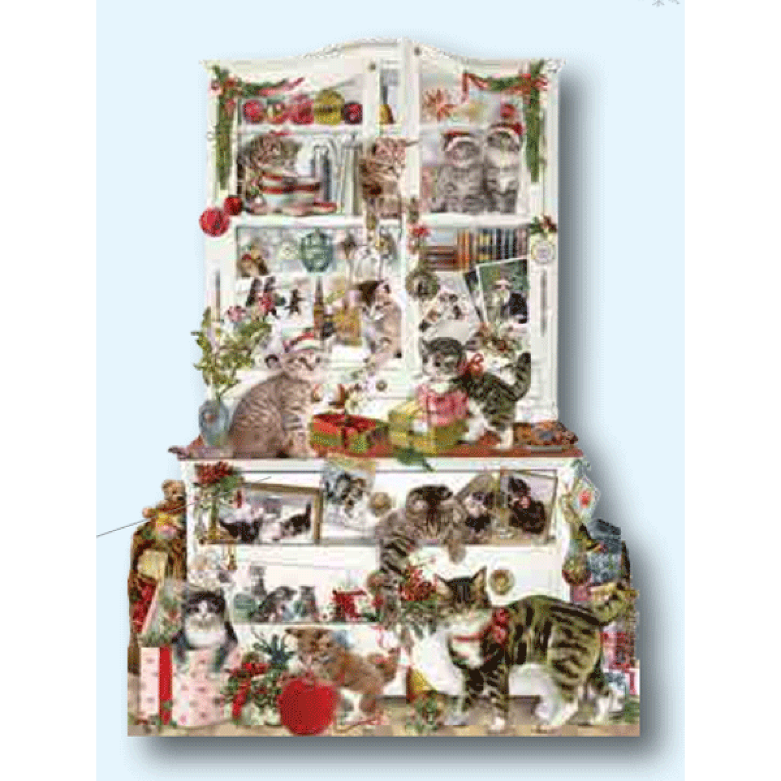 Mischievous Chrismas Cats Advent Calendar