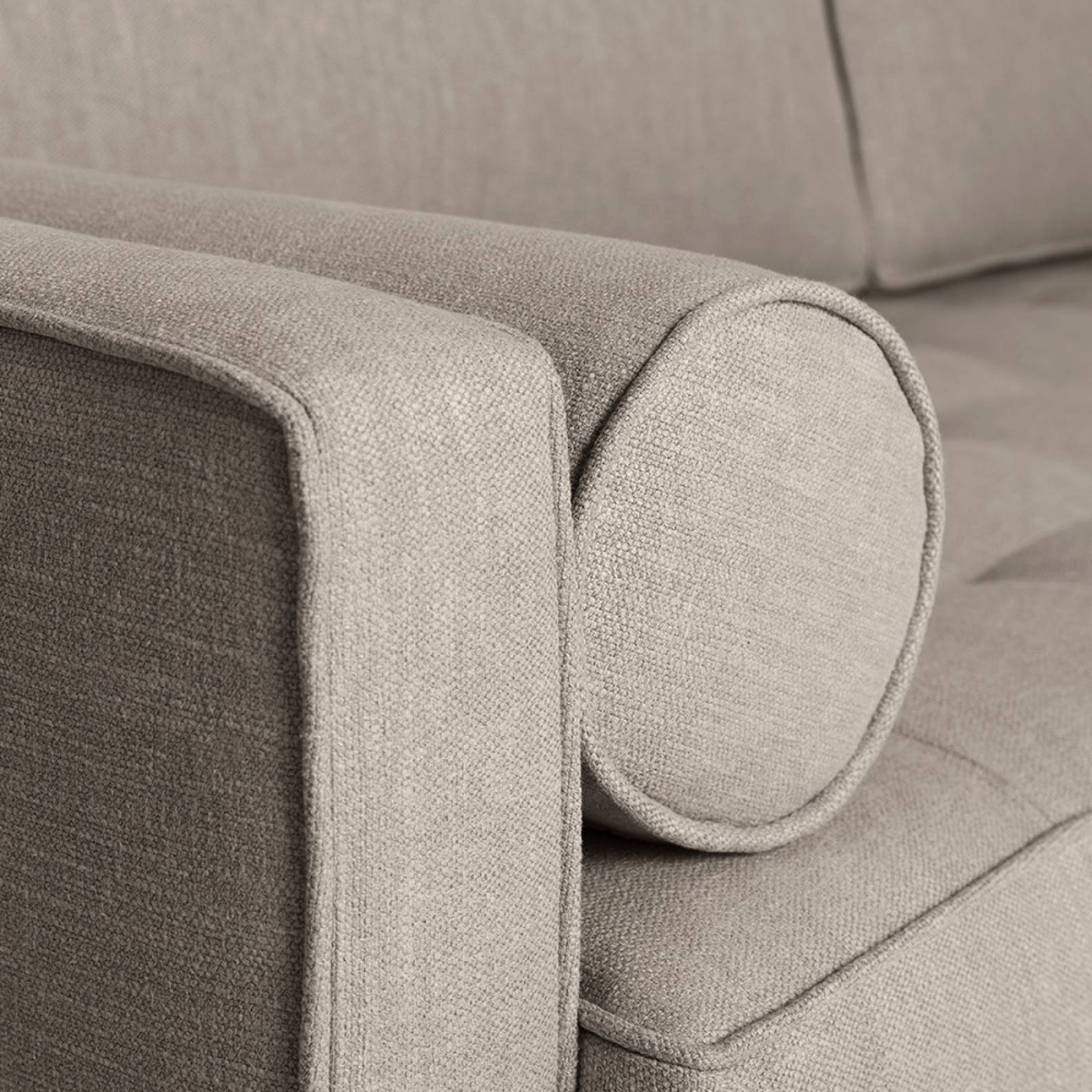 Swyft - Model 02 Linen 2 Seater Sofa - Pumice thumbnails