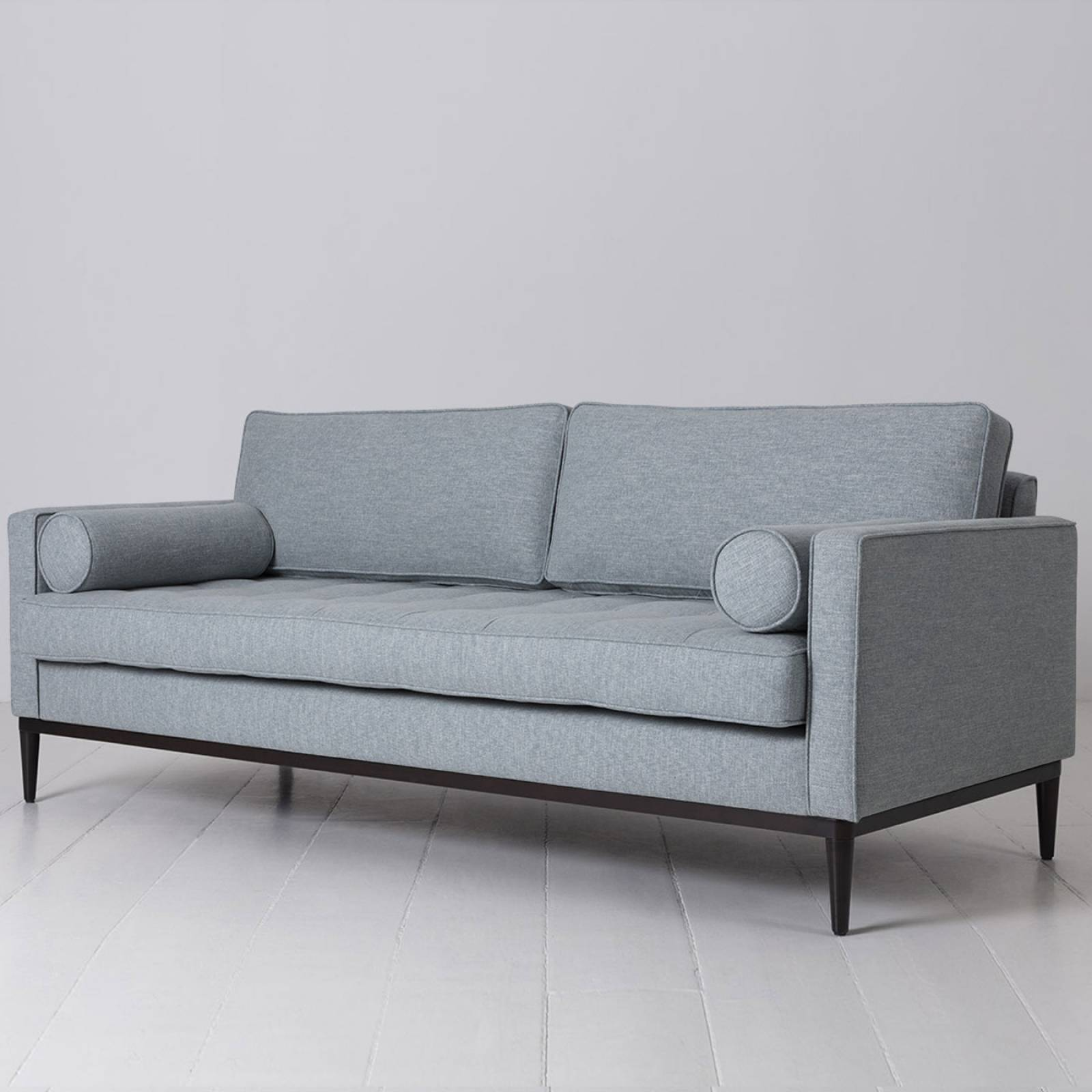 Swyft - Model 02 Linen 3 Seater Sofa - Seaglass thumbnails