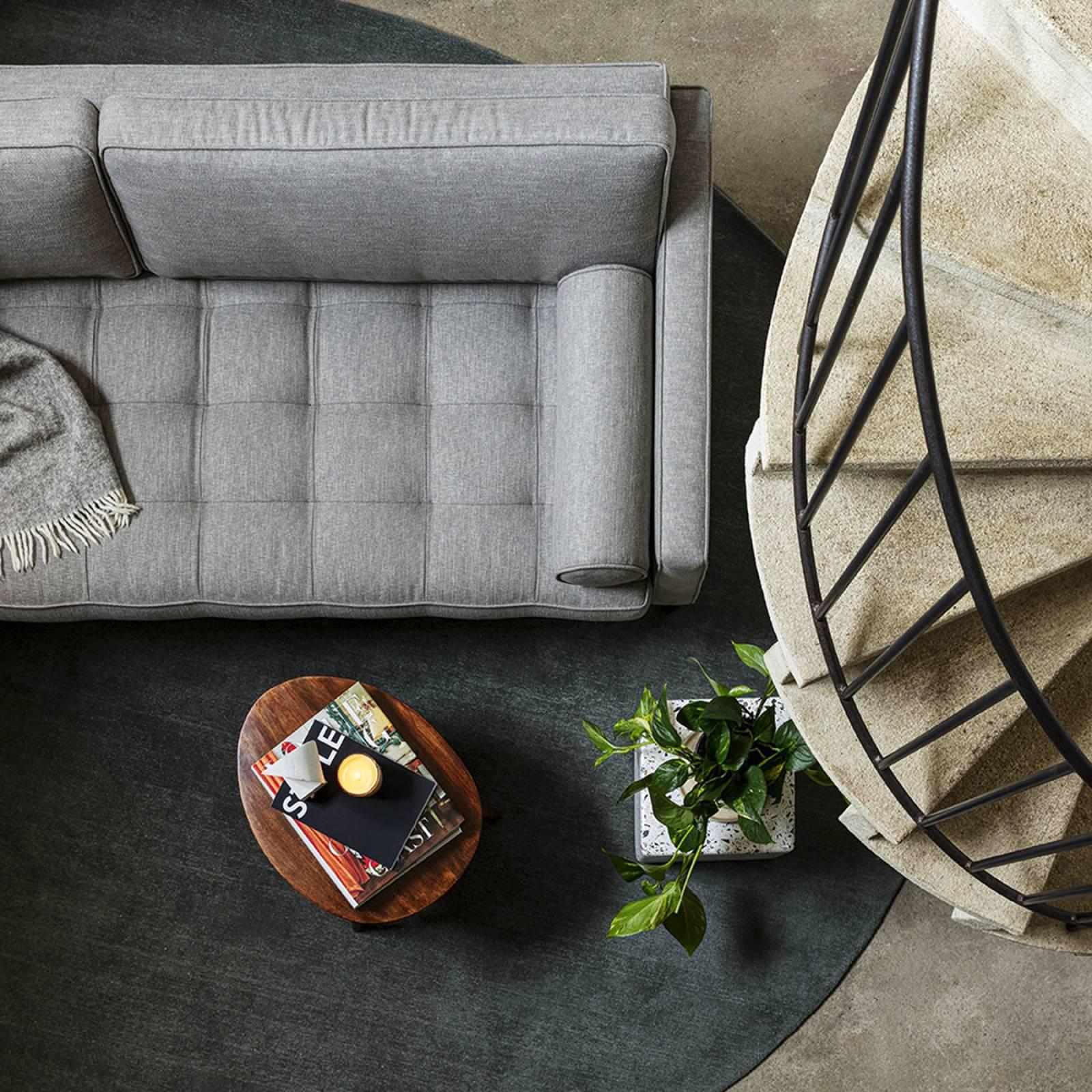 Swyft - Model 02 Linen 3 Seater Sofa - Shadow thumbnails