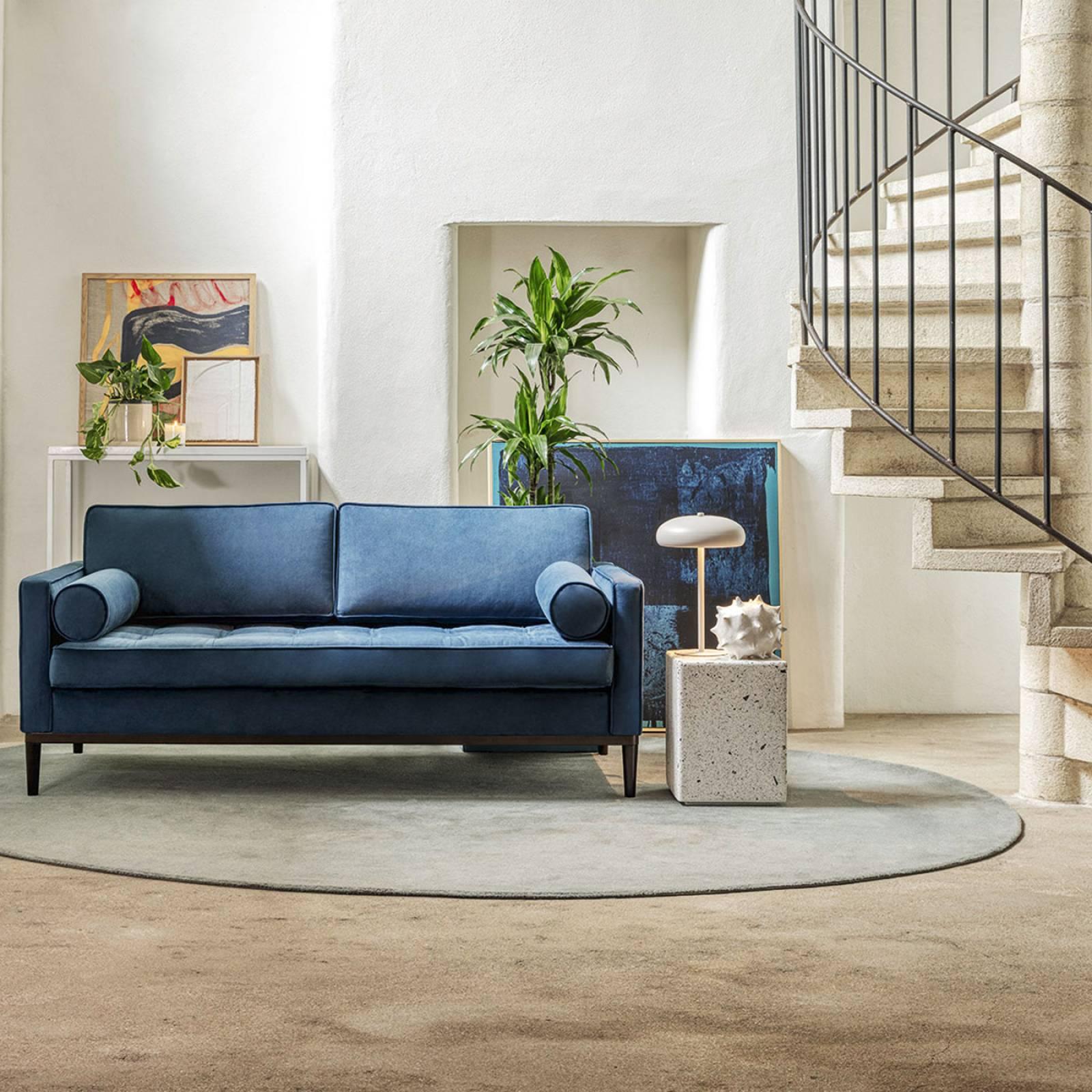 Swyft - Model 02 Velvet 3 Seater Sofa - Teal thumbnails