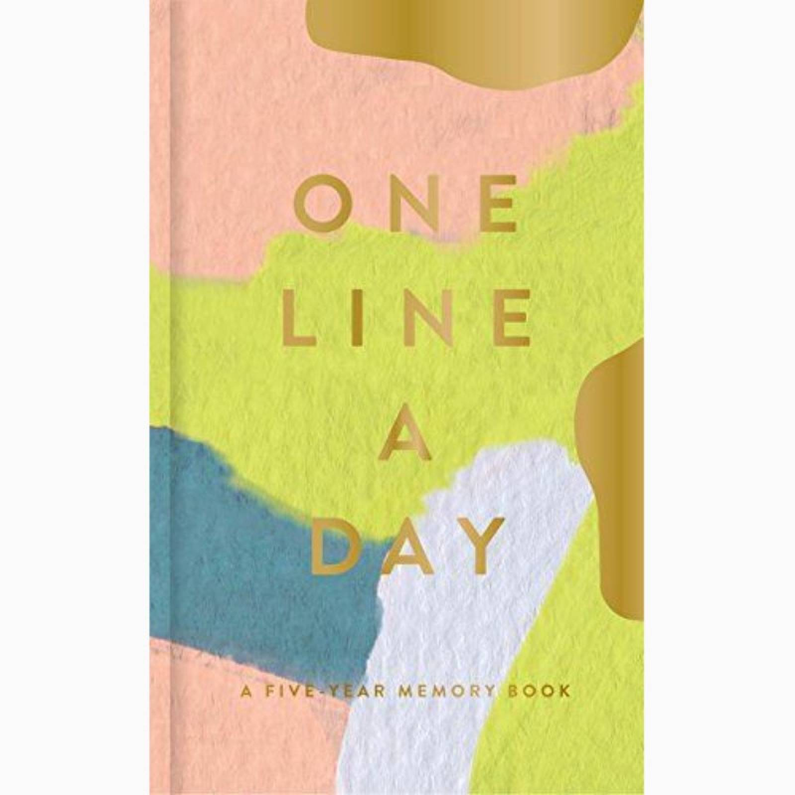 Moglea One Line A Day: Five Year Memory Book