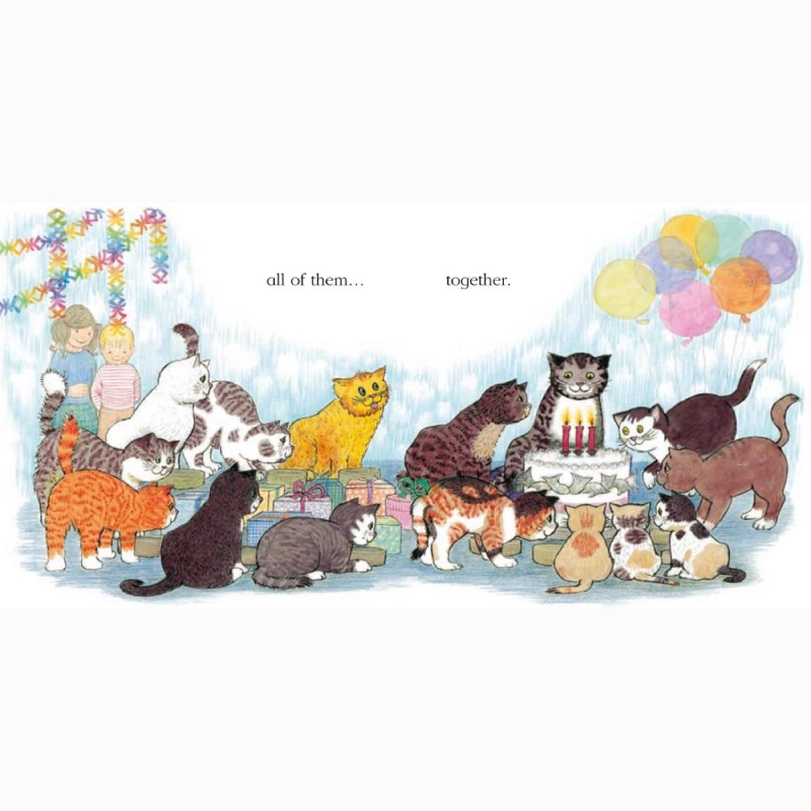 Mog's Family Of Cats - Board Book thumbnails