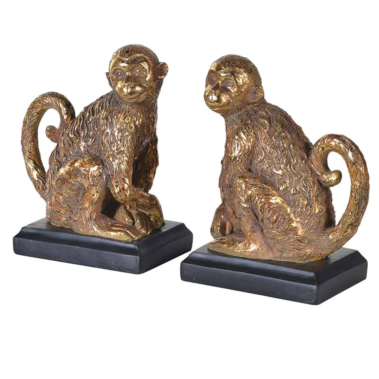 Gold Monkey Bookends thumbnails