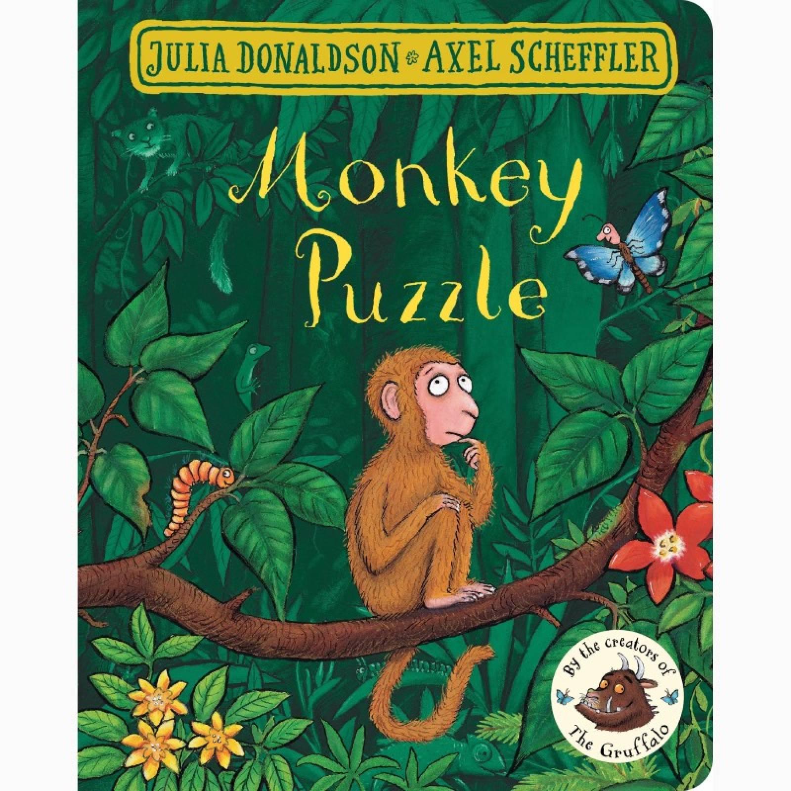 Monkey Puzzle - Board Book
