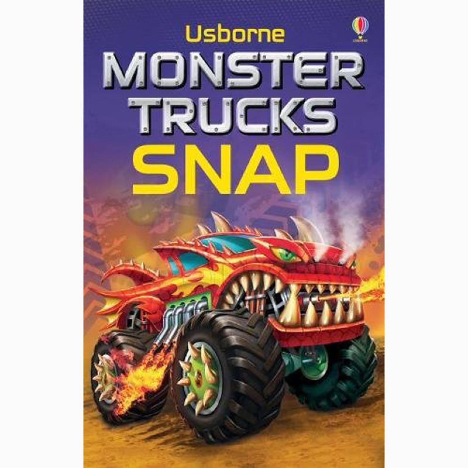 Monster Trucks Snap Card Game