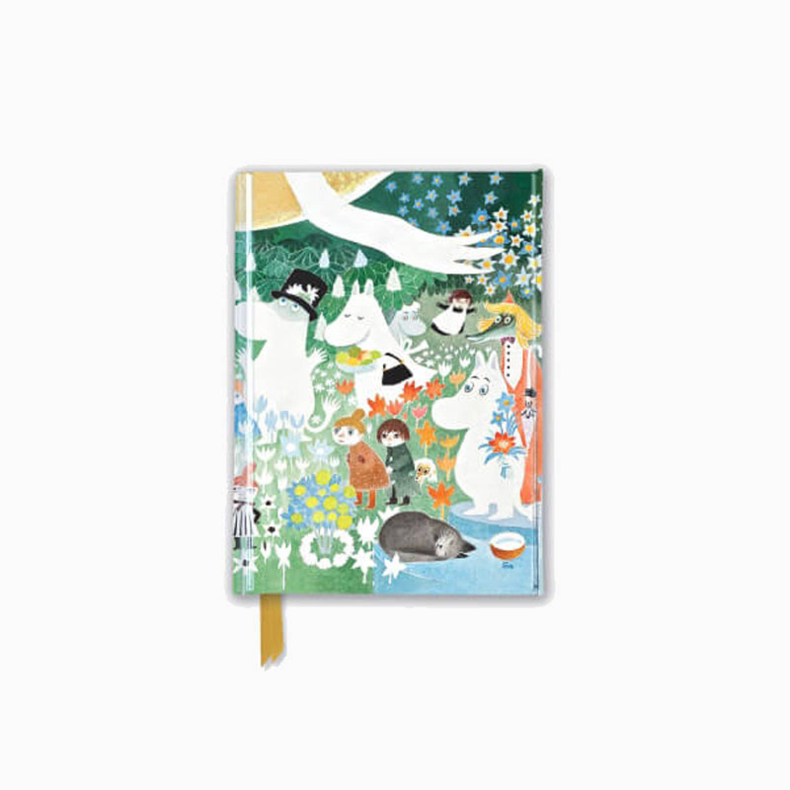Moomins - Foiled Pocket Journal