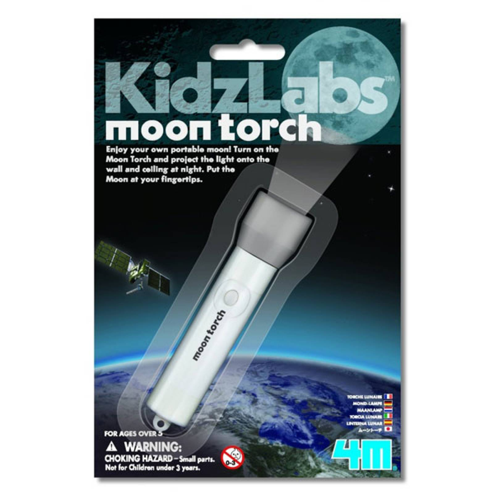 Moon Torch - Science Toy 5+