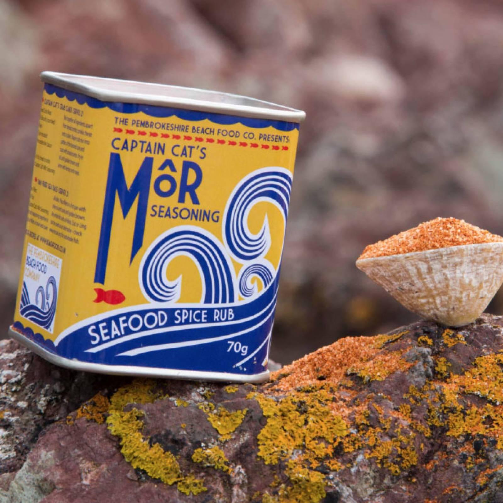 Captain Cat's Mor Seasoning Beach Food