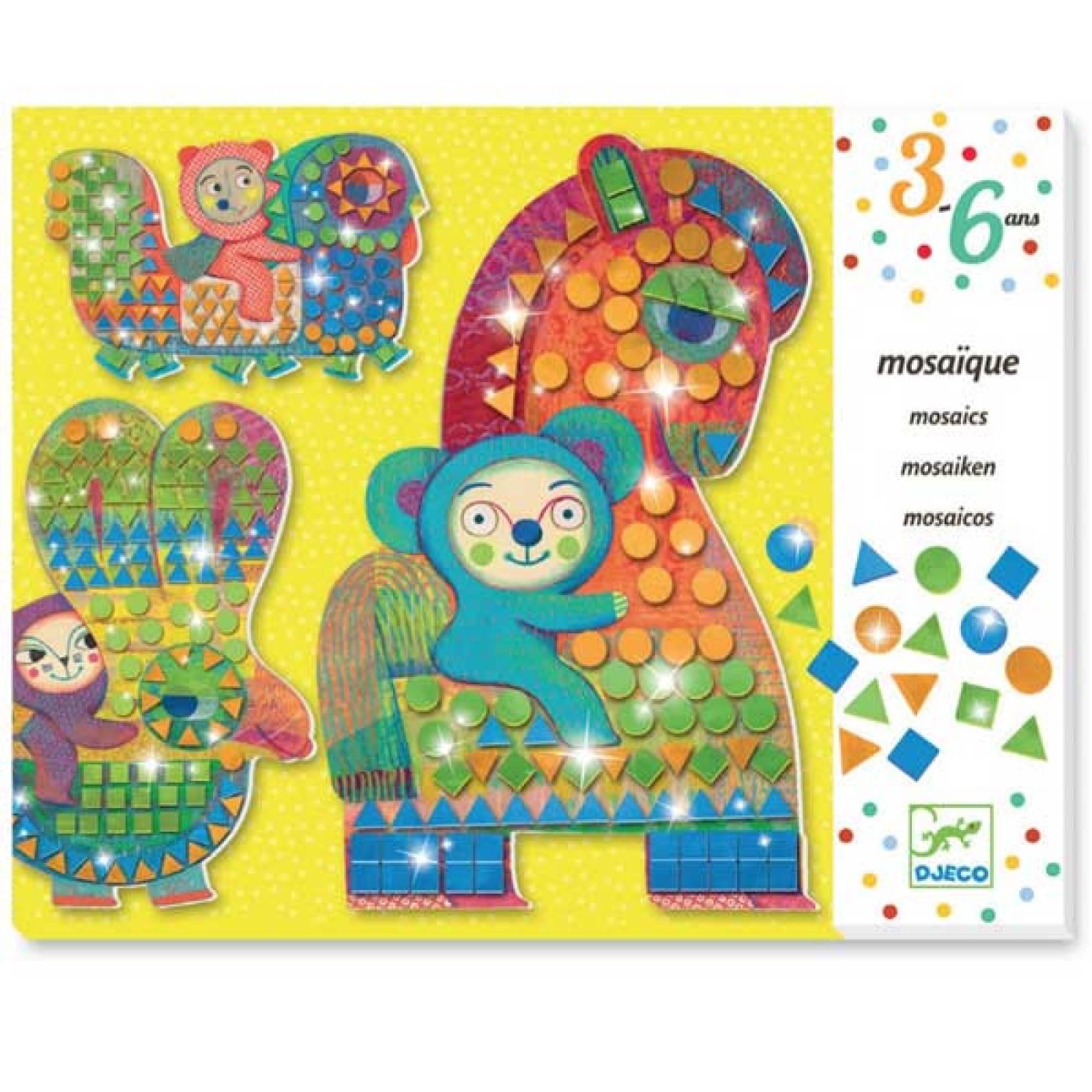Mosaics On Horseback - Creative Set By Djeco