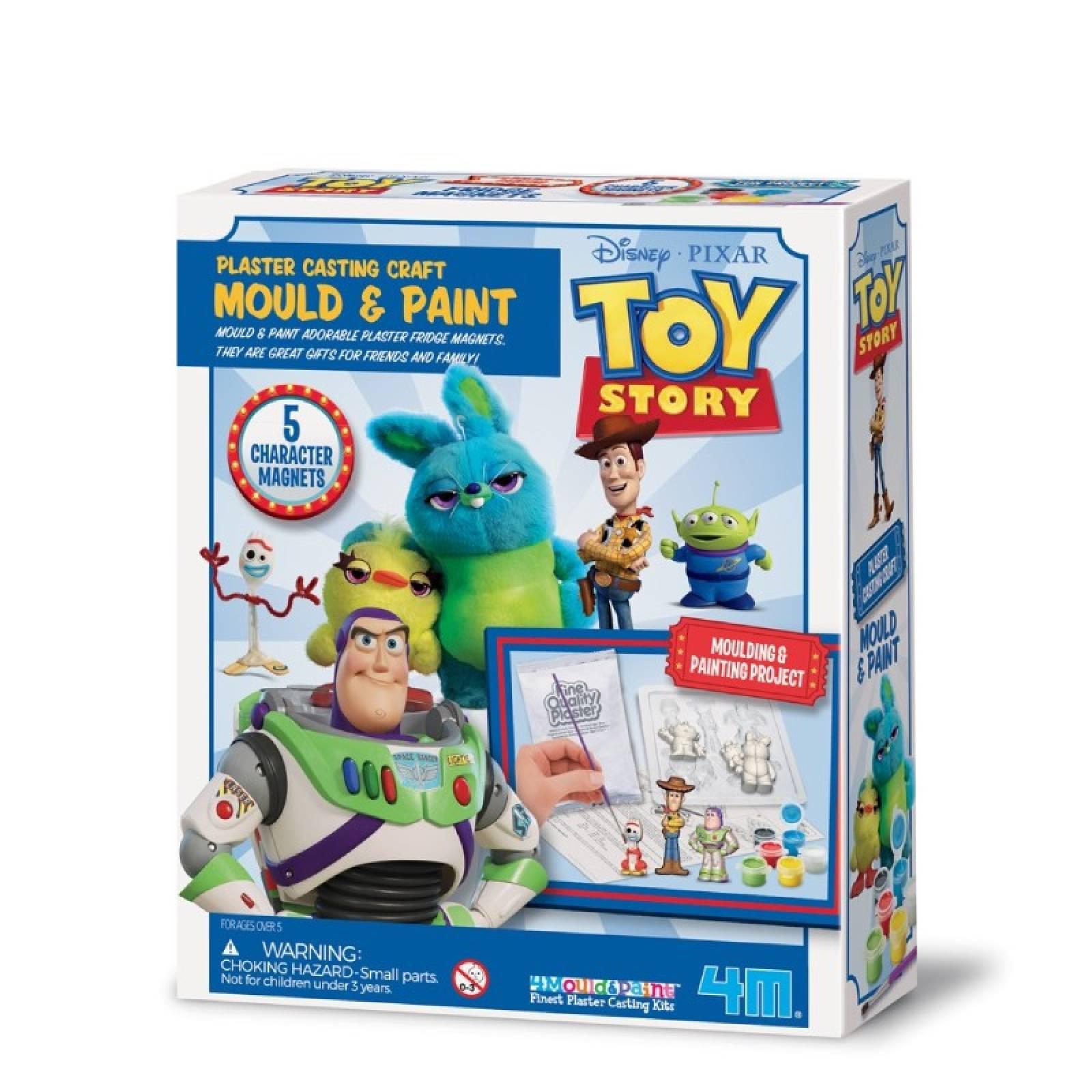Mould & Paint - Toy Story - Art Kit 5+
