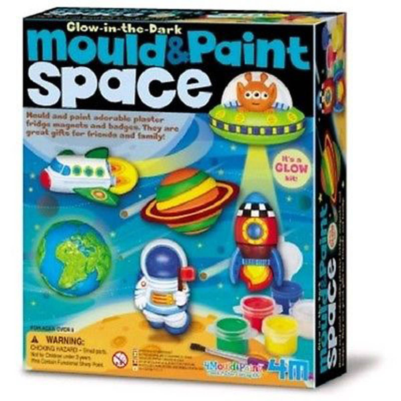 Mould & Paint - Space - Art Kit 5+