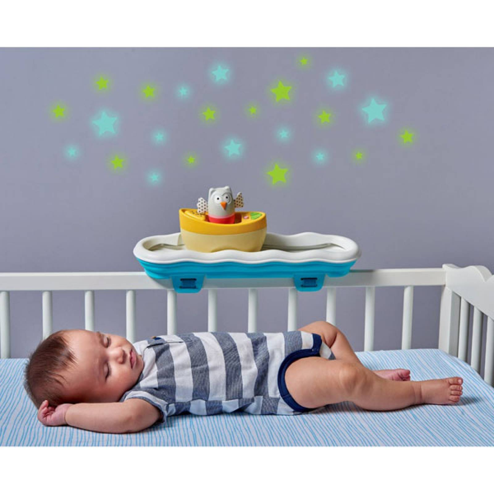 Musical Boat Cot Toy By Taf Toys 0+ thumbnails