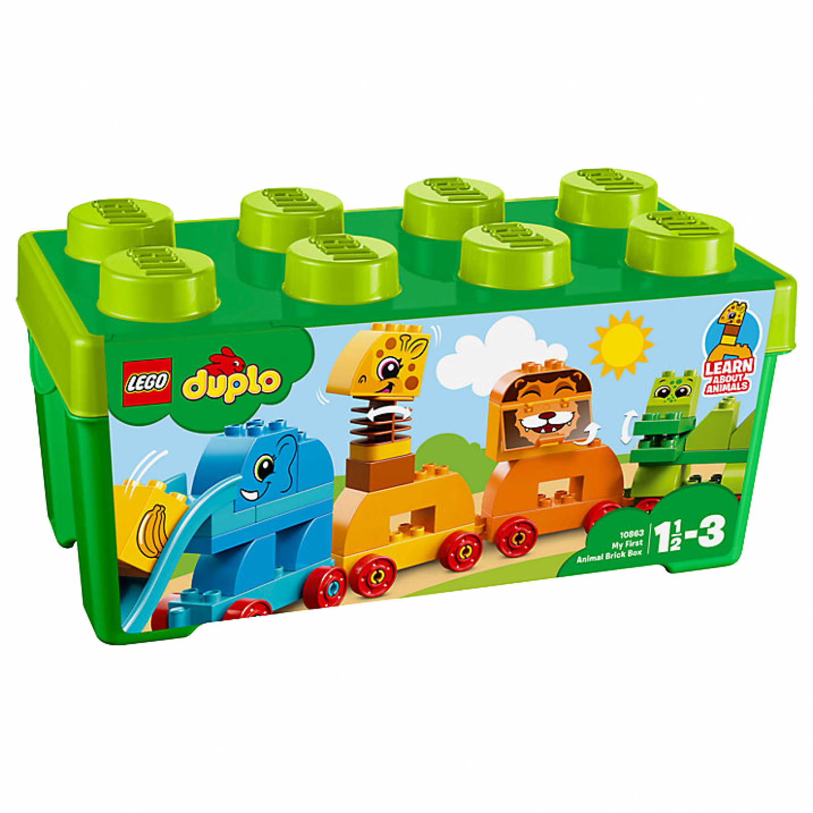 LEGO DUPLO My First Animal Brick Box 10863 thumbnails