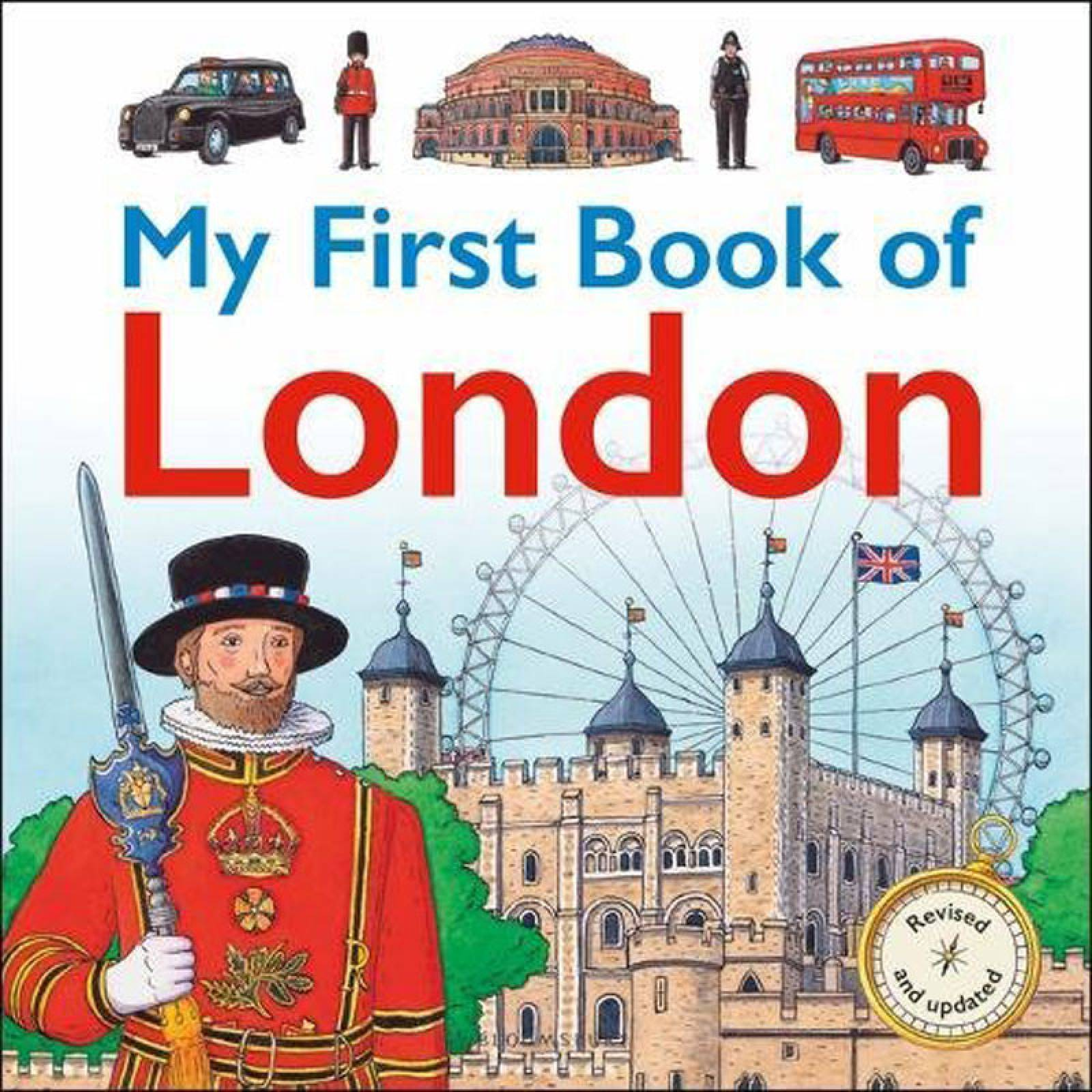My First Book Of London - Hardback Book