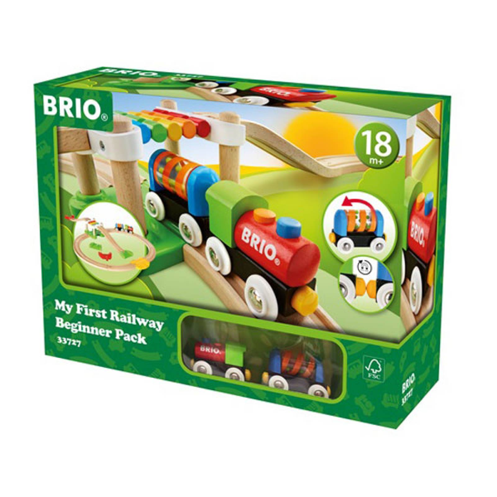 My First Railway Beginner Pack BRIO Wooden Railway Age 1.5+ thumbnails