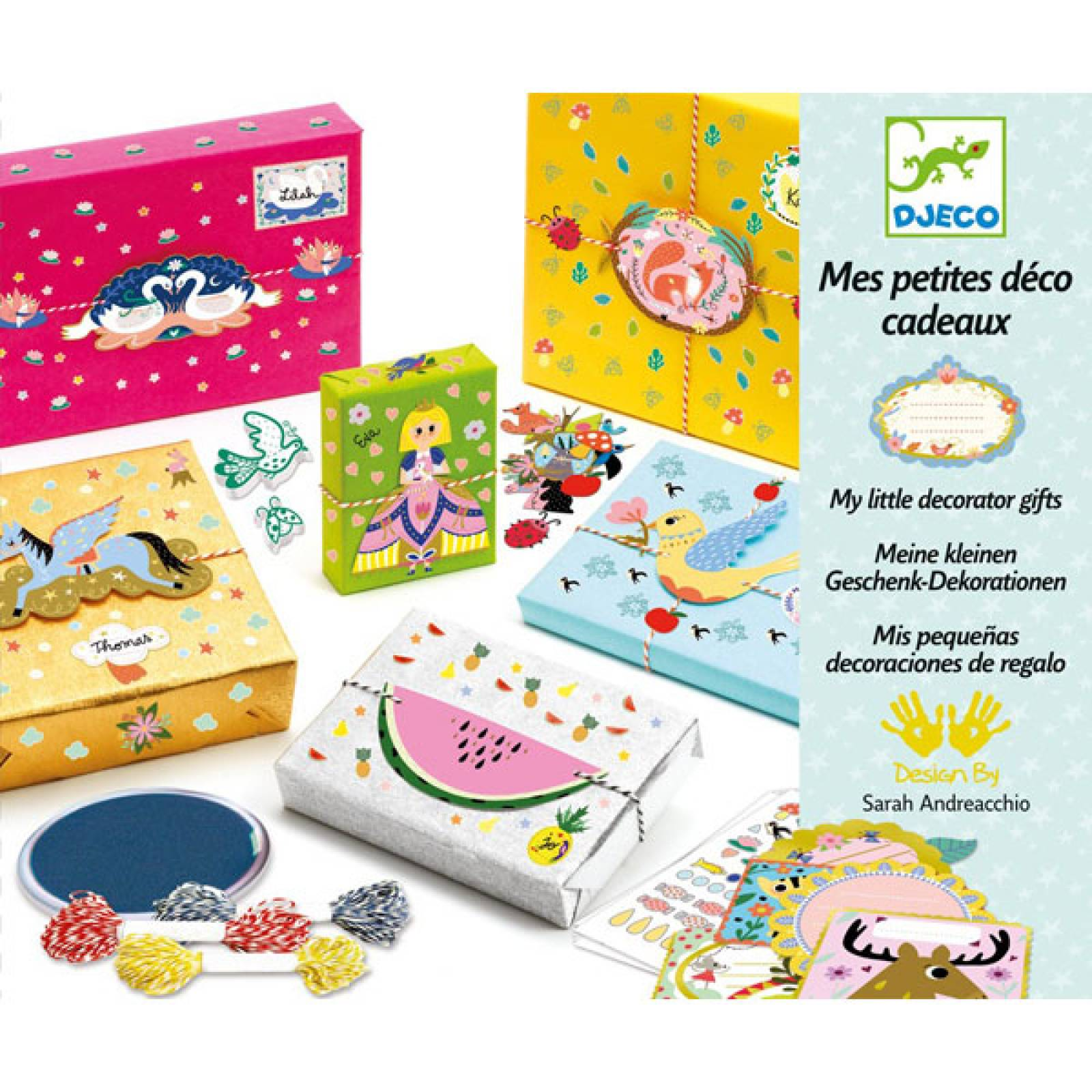 My Little Decorator Gifts Craft Kit By Djeco 7-13yrs