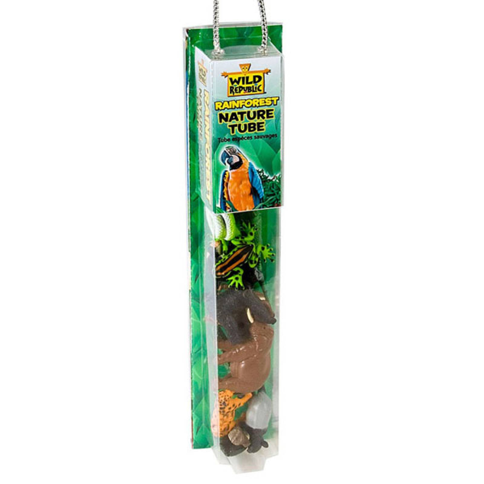 Rainforest Nature Tube Figures And Playmat