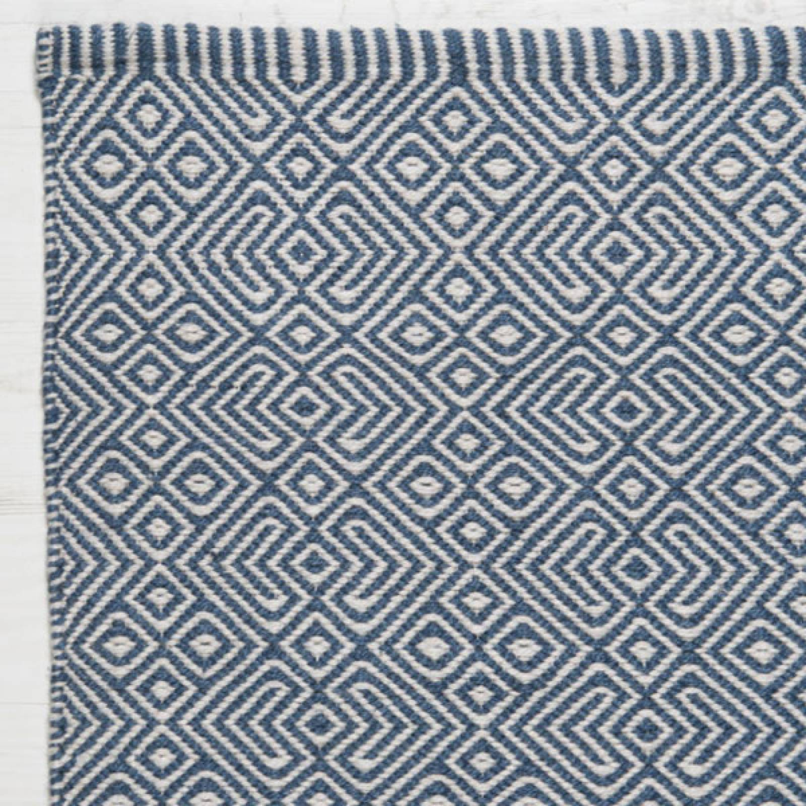 Provence NAVY 180 x 120cm Recycled Bottle Rug