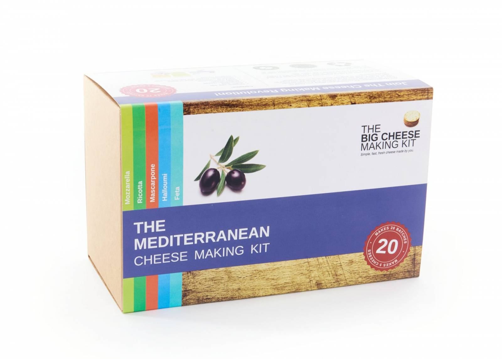 Mediterranean Cheese Making Kit