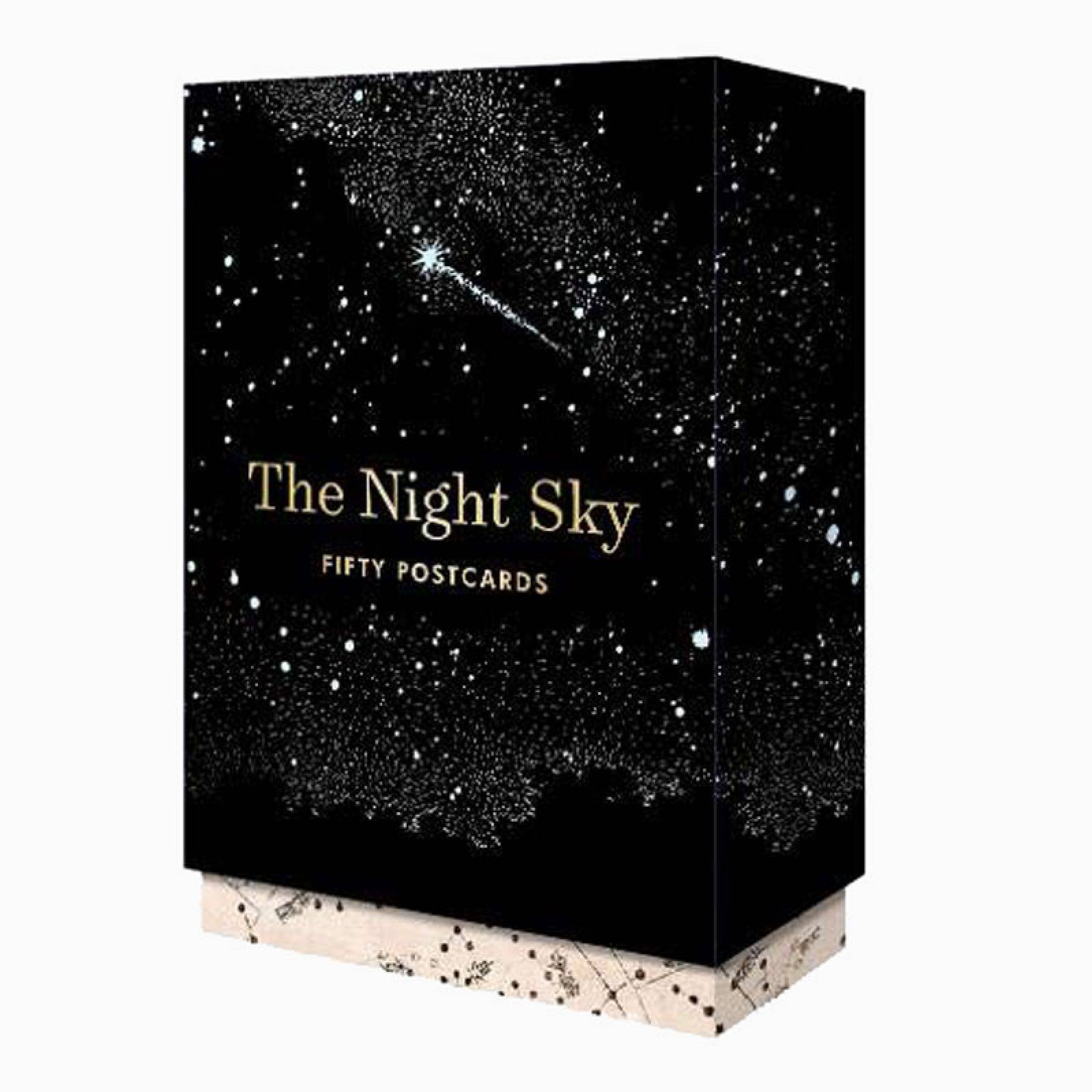 The Night Sky: Box Set Of 50 Postcards