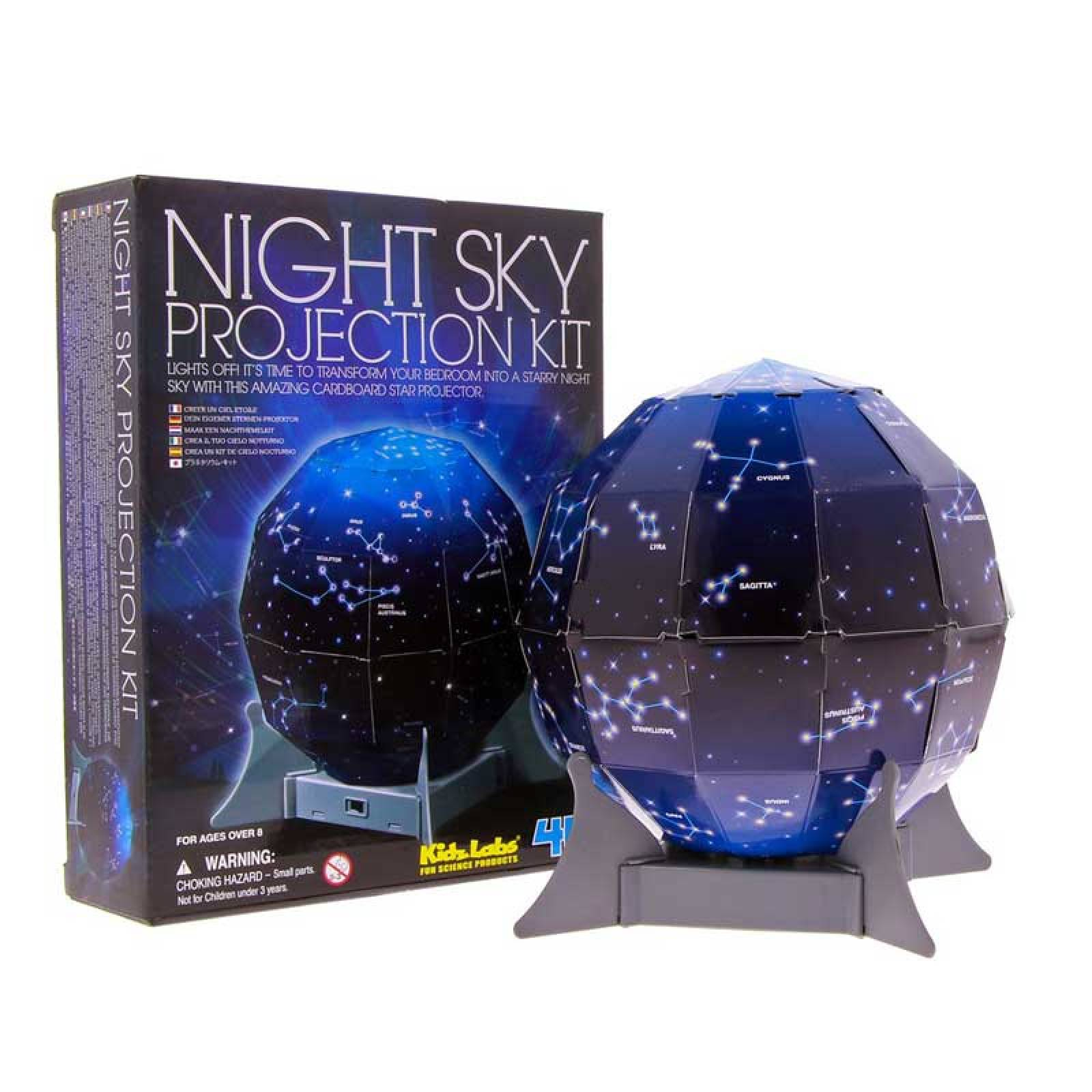 Night Sky Projection Kit Science Kit 8+
