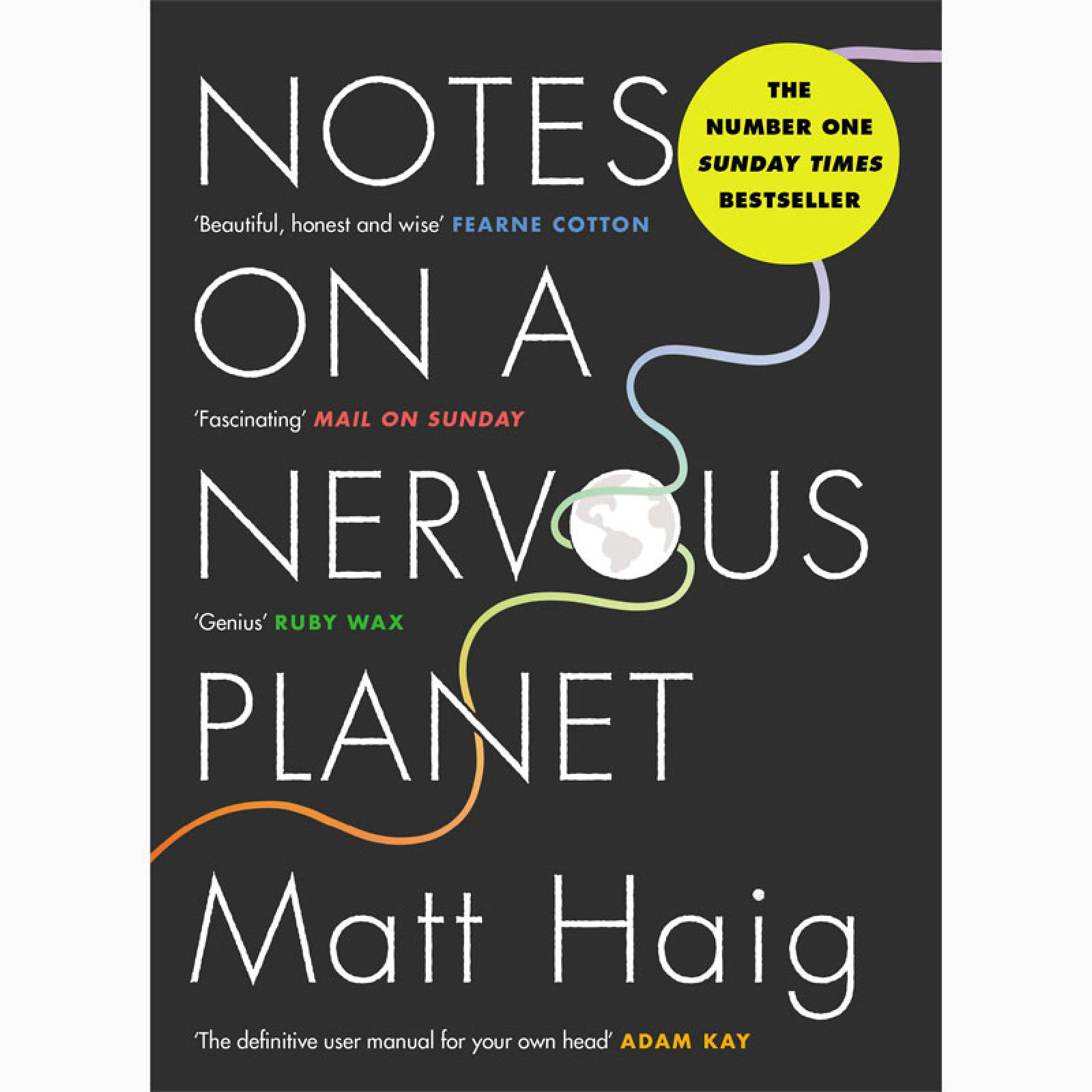 Notes On A Nervous Planet - Paperback Book