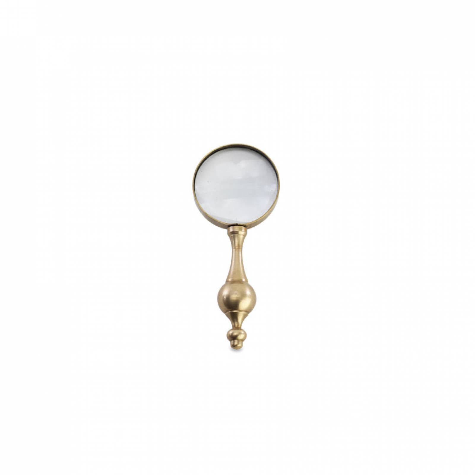 Ndusa Antiqued Brass Magnifying Glass