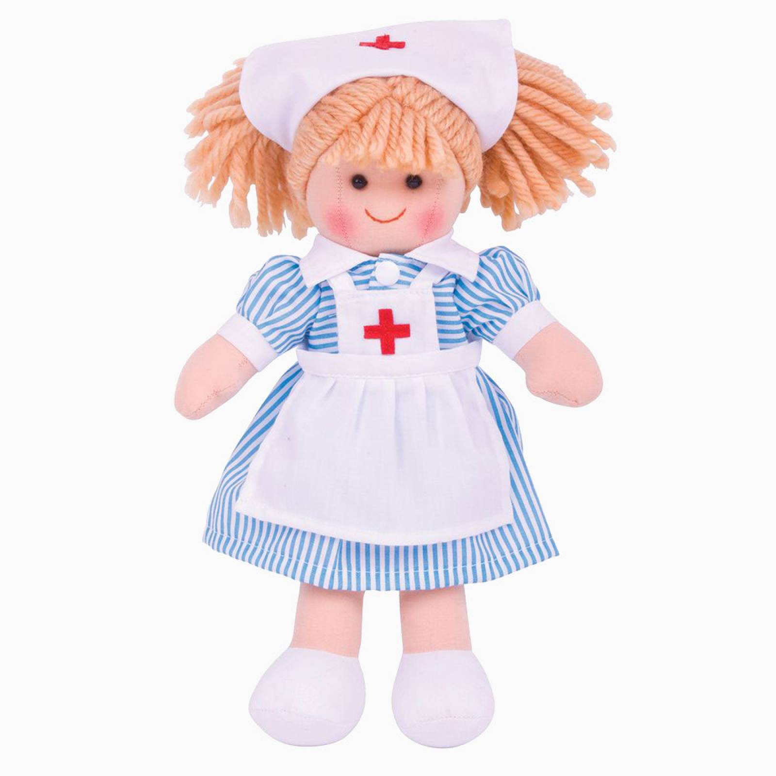 Nurse Nancy - Traditional Rag Doll 0+ thumbnails