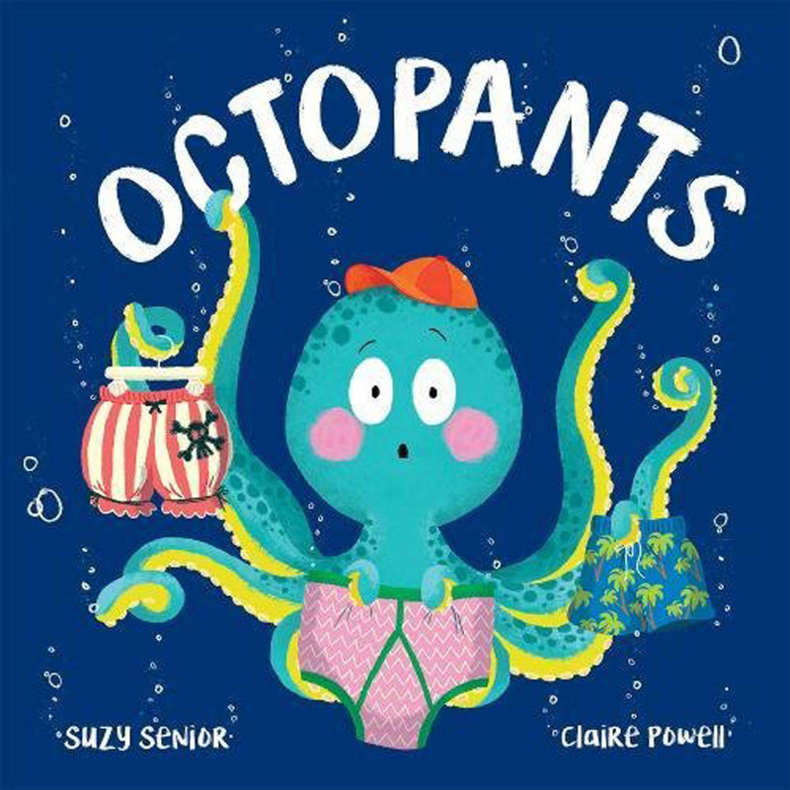 Octopants - Hardback Book