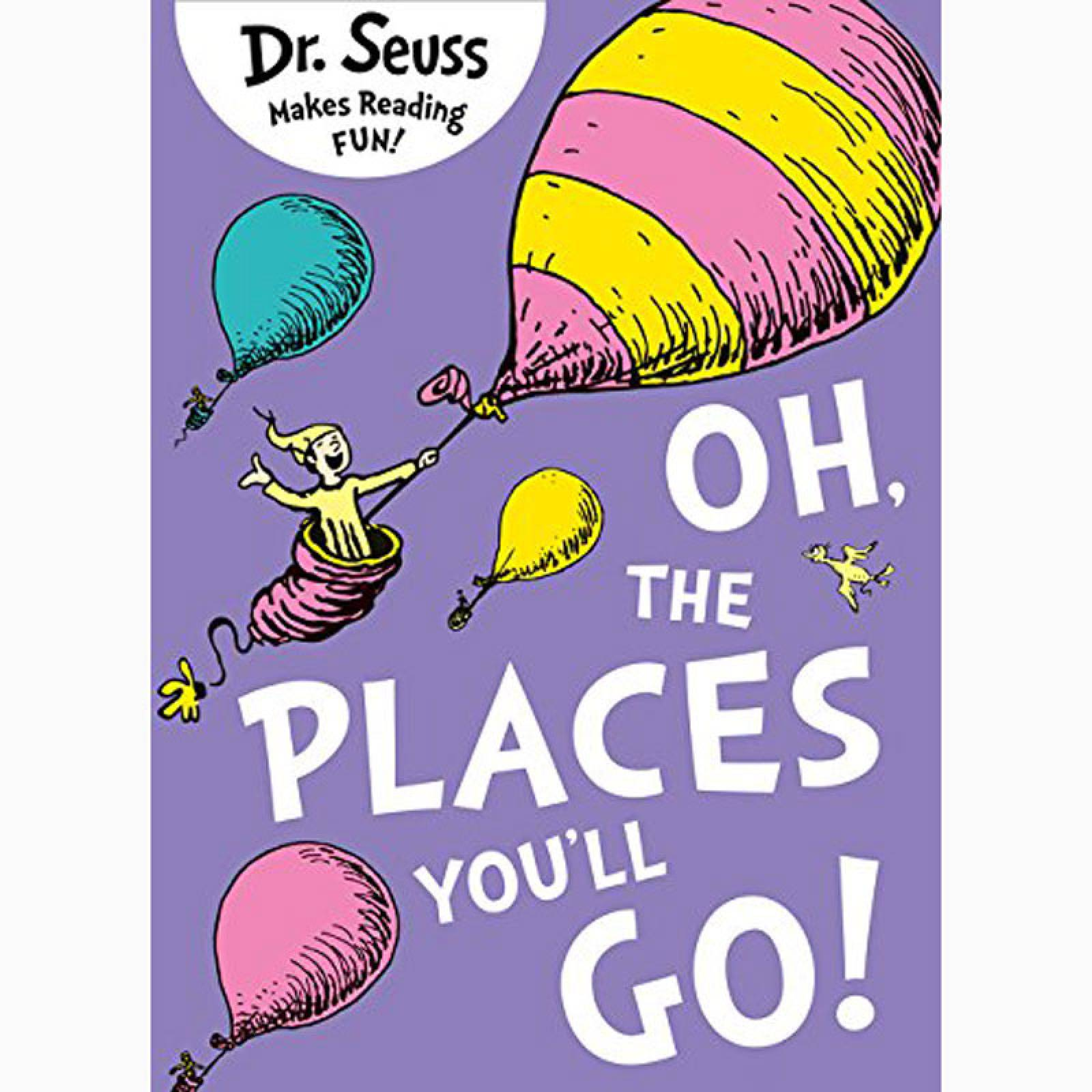Oh The Places You'll Go By Dr. Seuss - Paperback Book