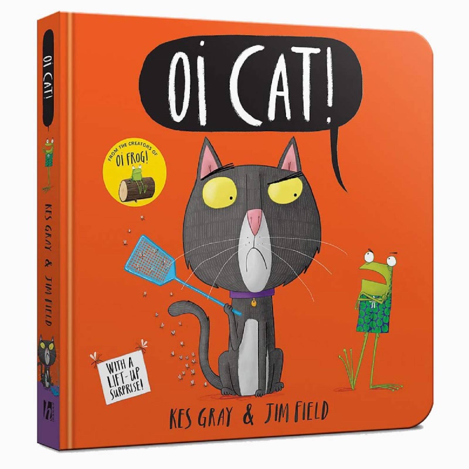 Oi Cat - Board Book