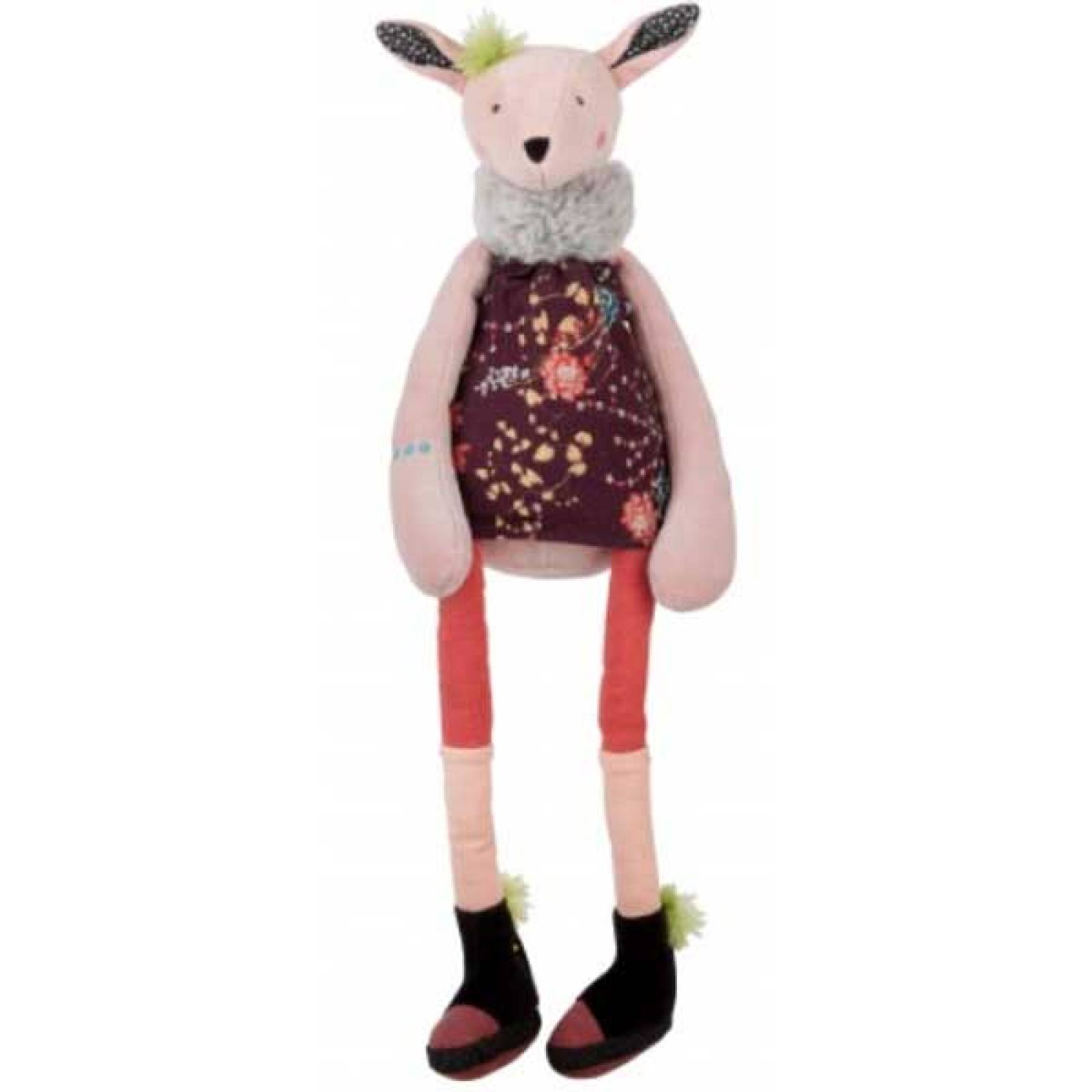 Olive The Deer Soft Toy Moulin Roty 12mth+