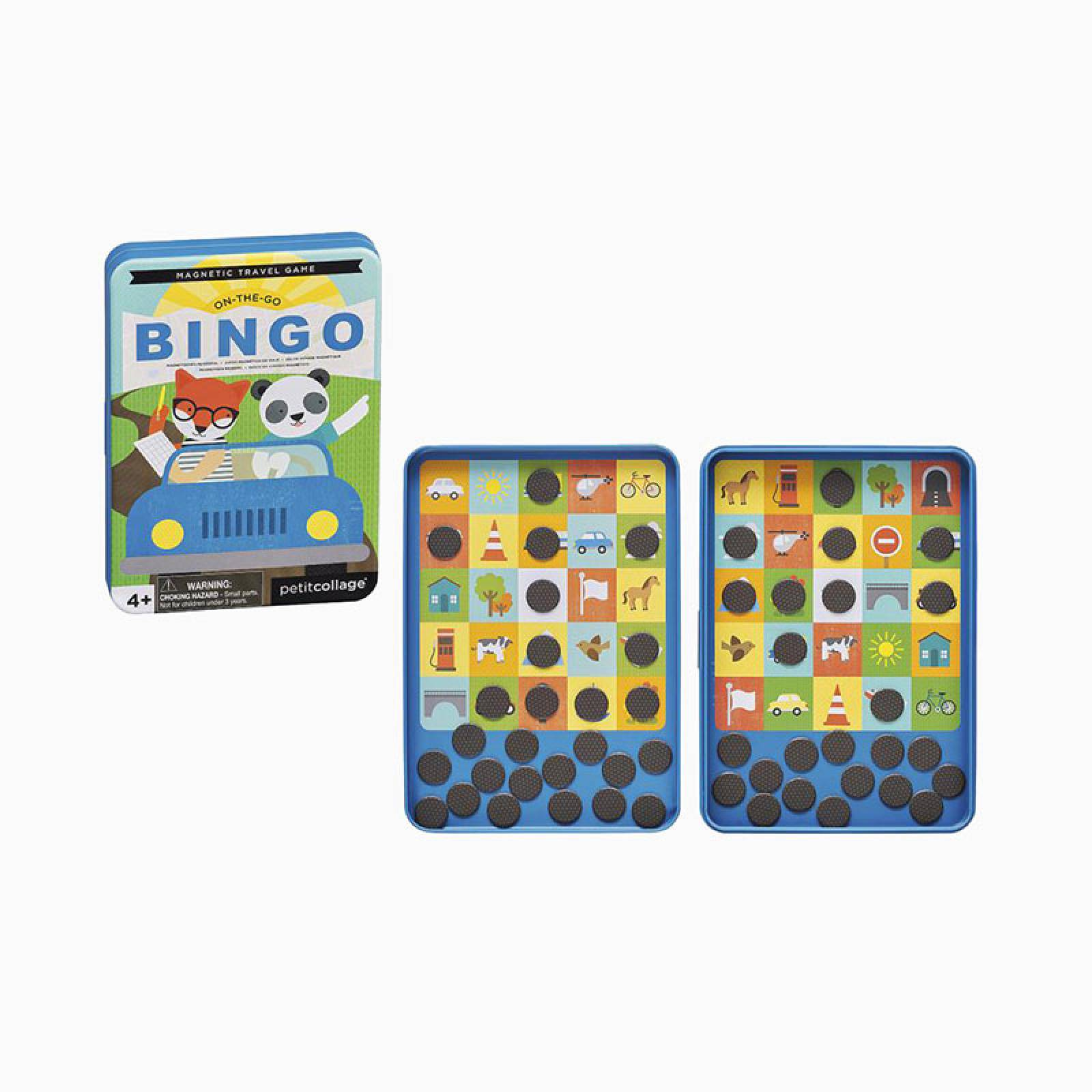 On The Go Bingo - Magnetic Travel Game 4+