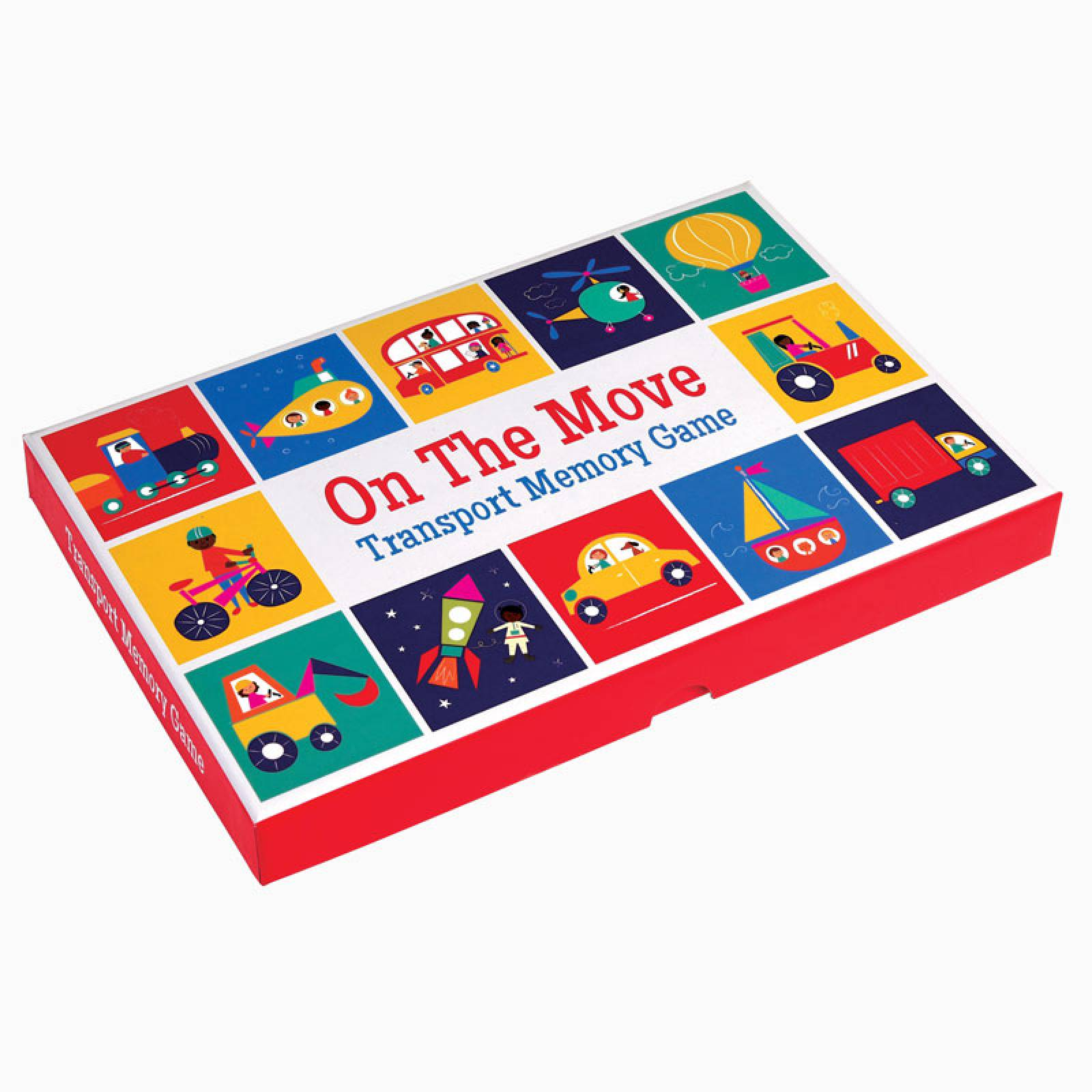 On The Move - Transport Memory Card Game thumbnails