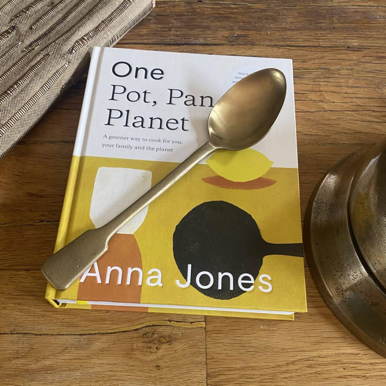 One: Pot, Pan, Planet By Anna Jones - Hardback Book thumbnails