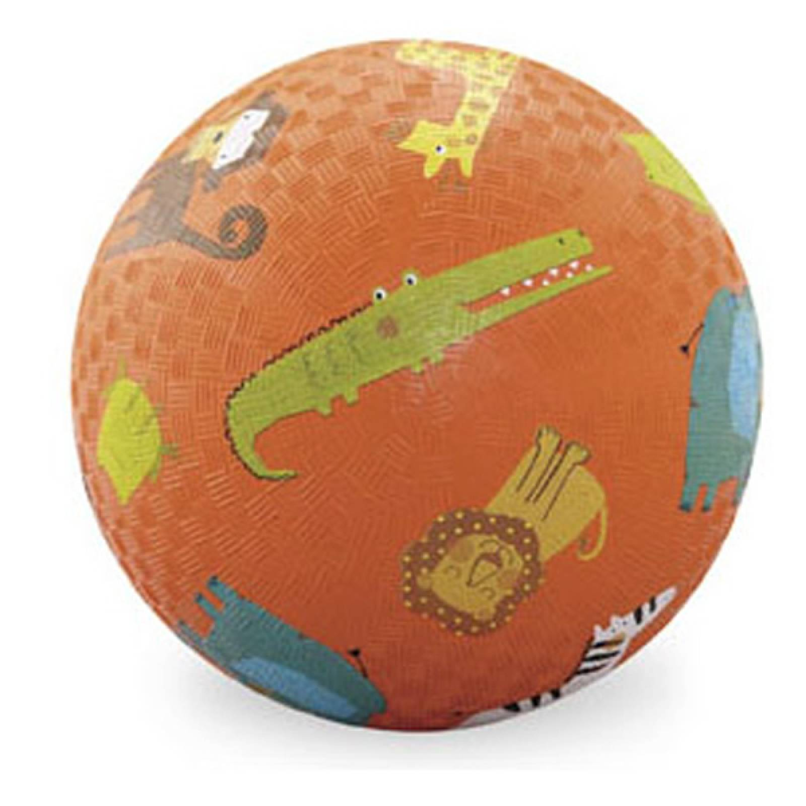 Orange Jungle Animal - Large Picture Ball 18cm