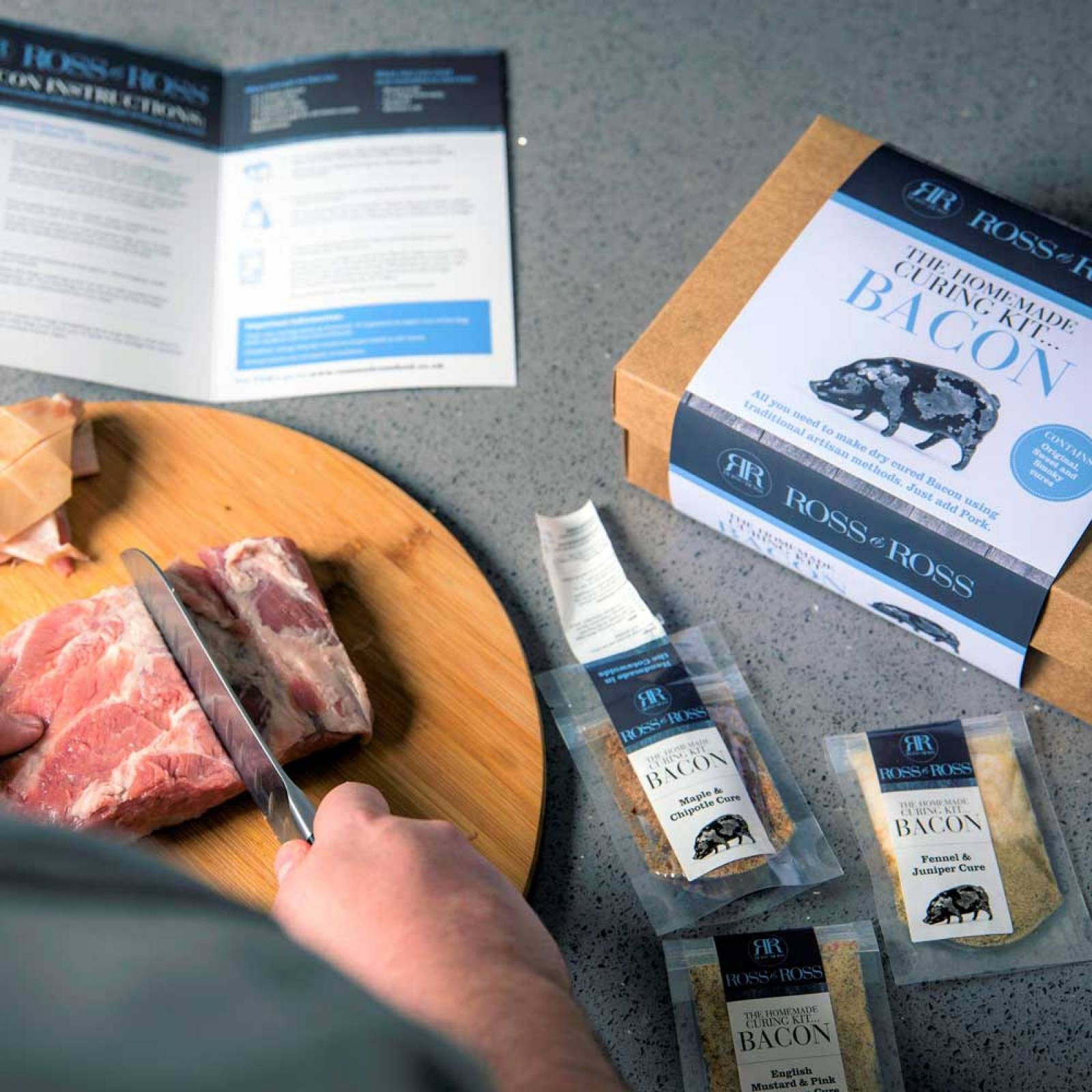 Cure Your Own Bacon Kit By Ross & Ross thumbnails