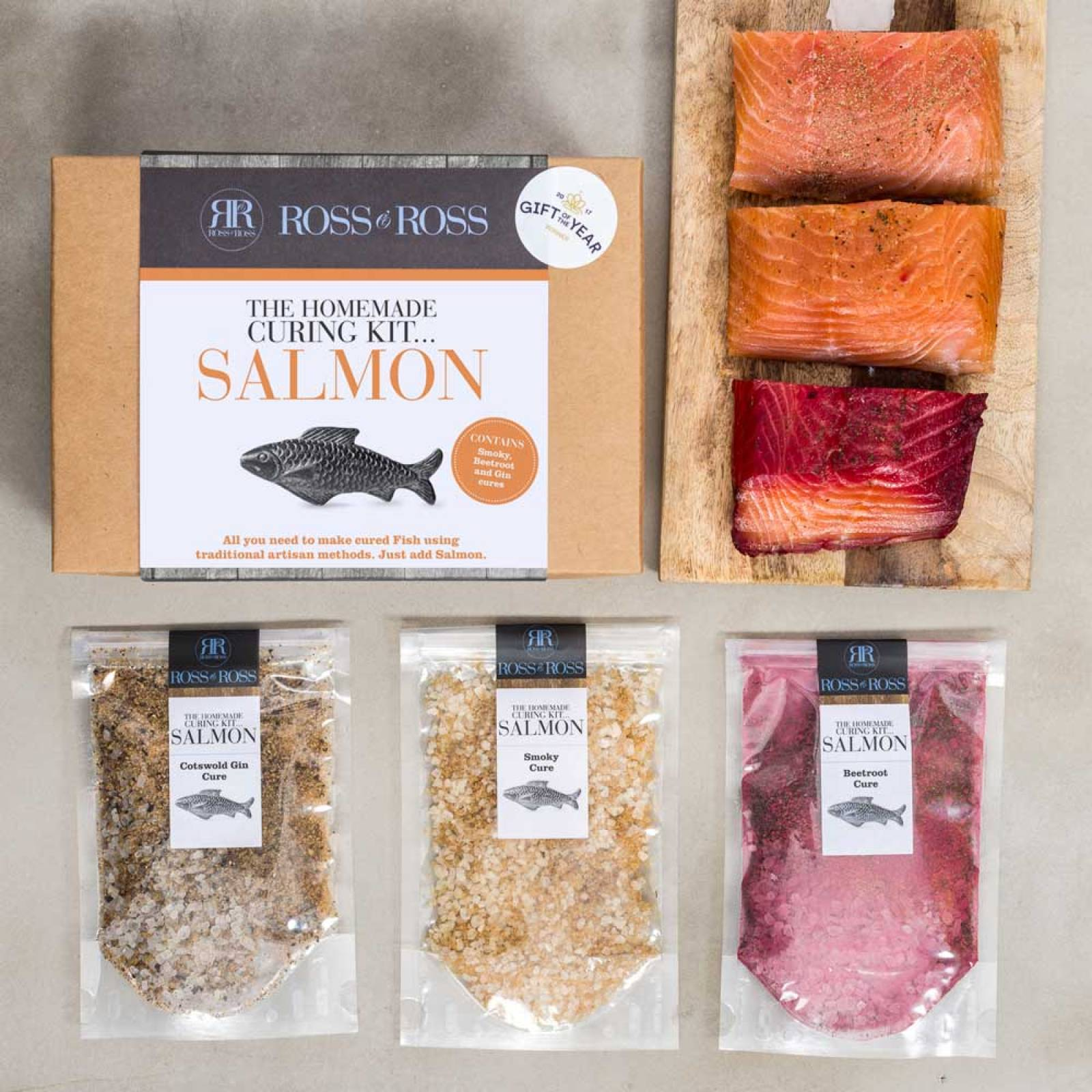 Make Your Own Smoked Salmon Kit By Ross & Ross thumbnails