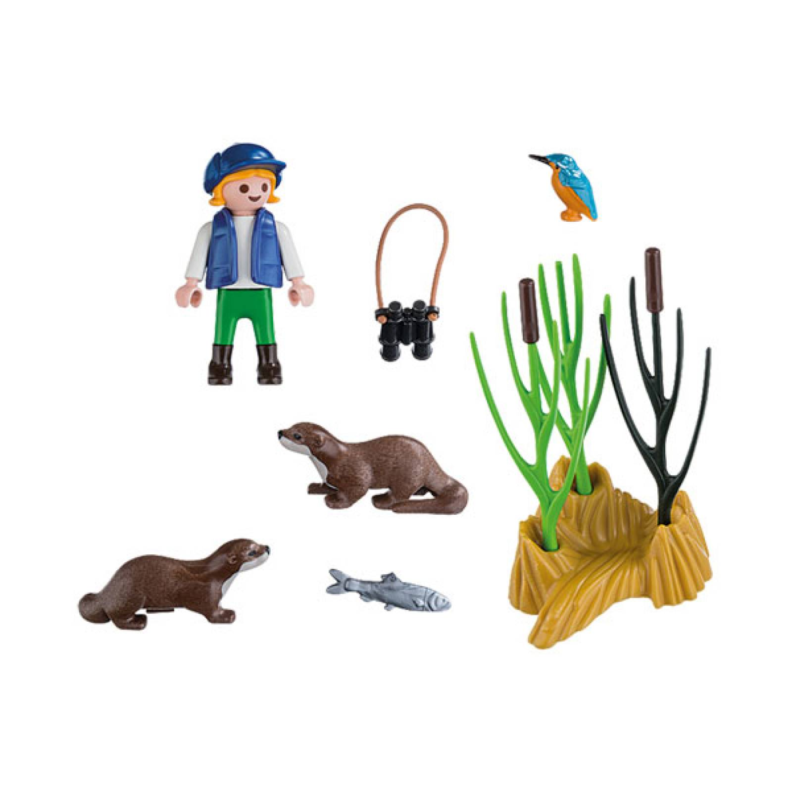 Young Explorers With Otters Playmobil 5376 thumbnails