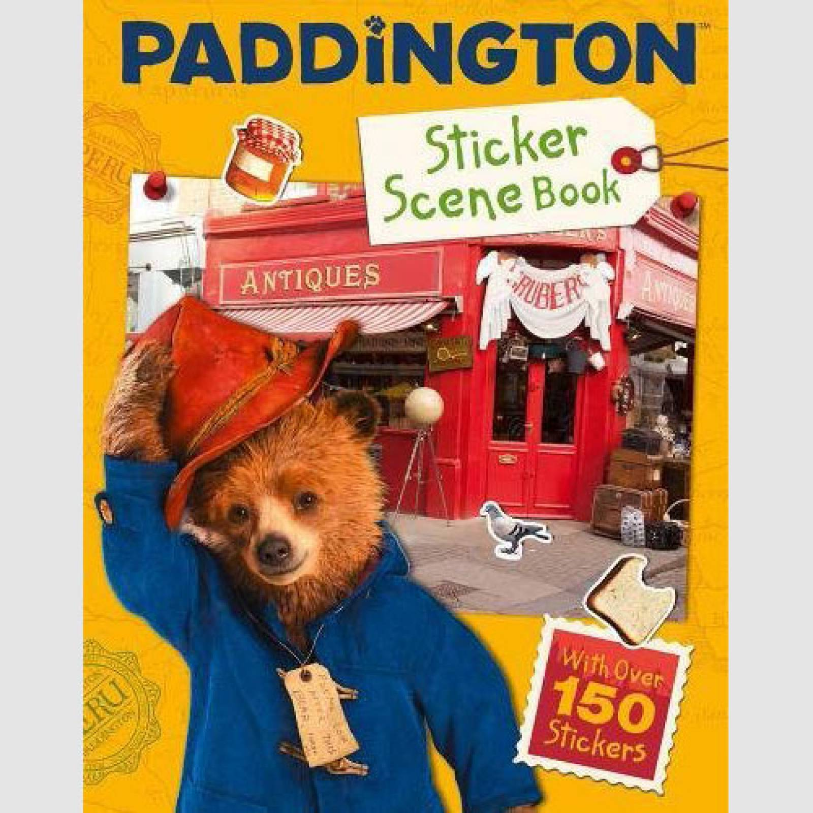 Paddington Sticker Scene Book