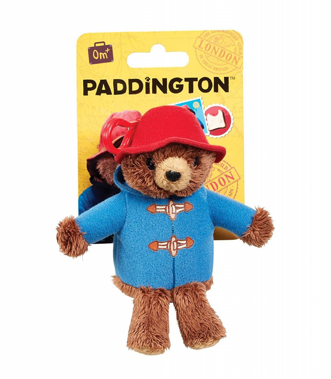 Paddington The Movie Plush Keyring