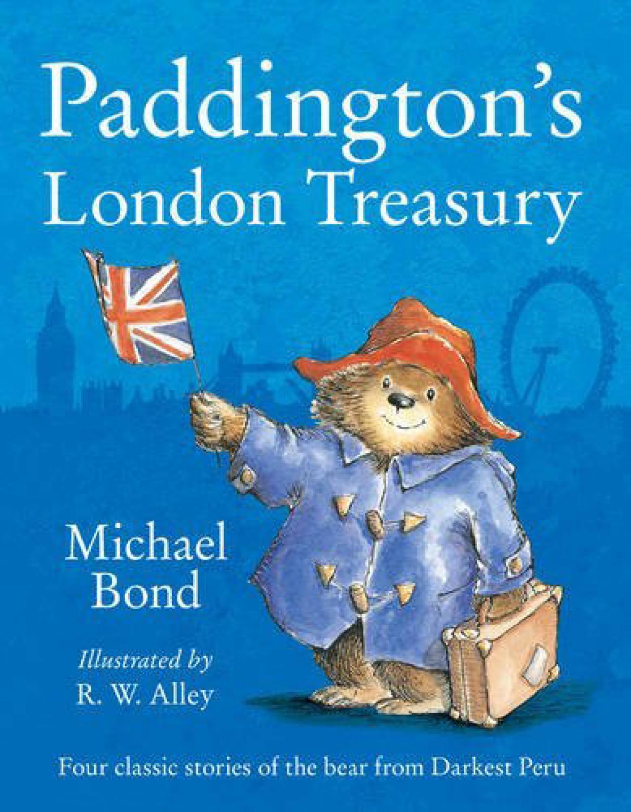 Paddington's London Treasury Paperback Book