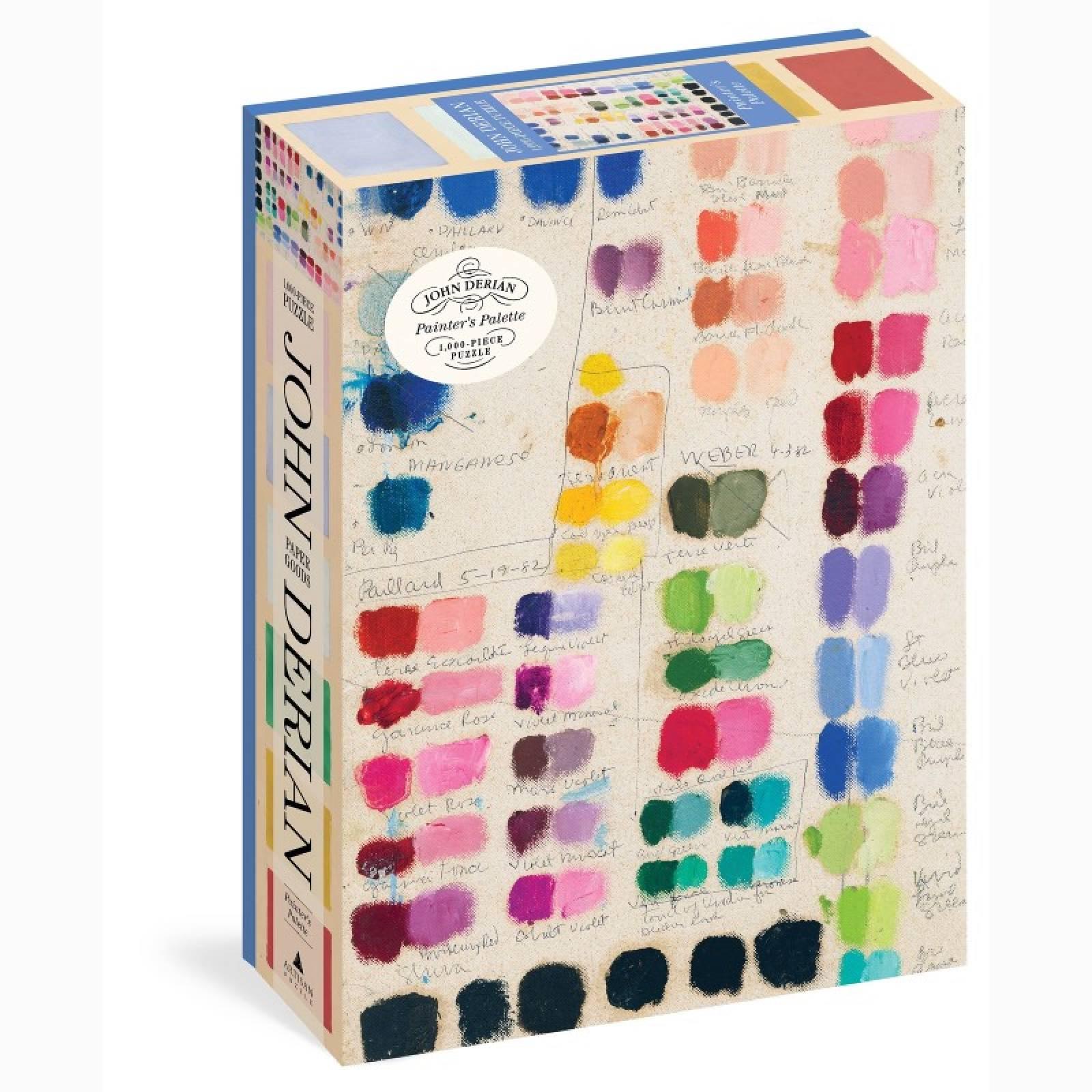 Painters Palette By John Derian - 1000 Piece Jigsaw Puzzle