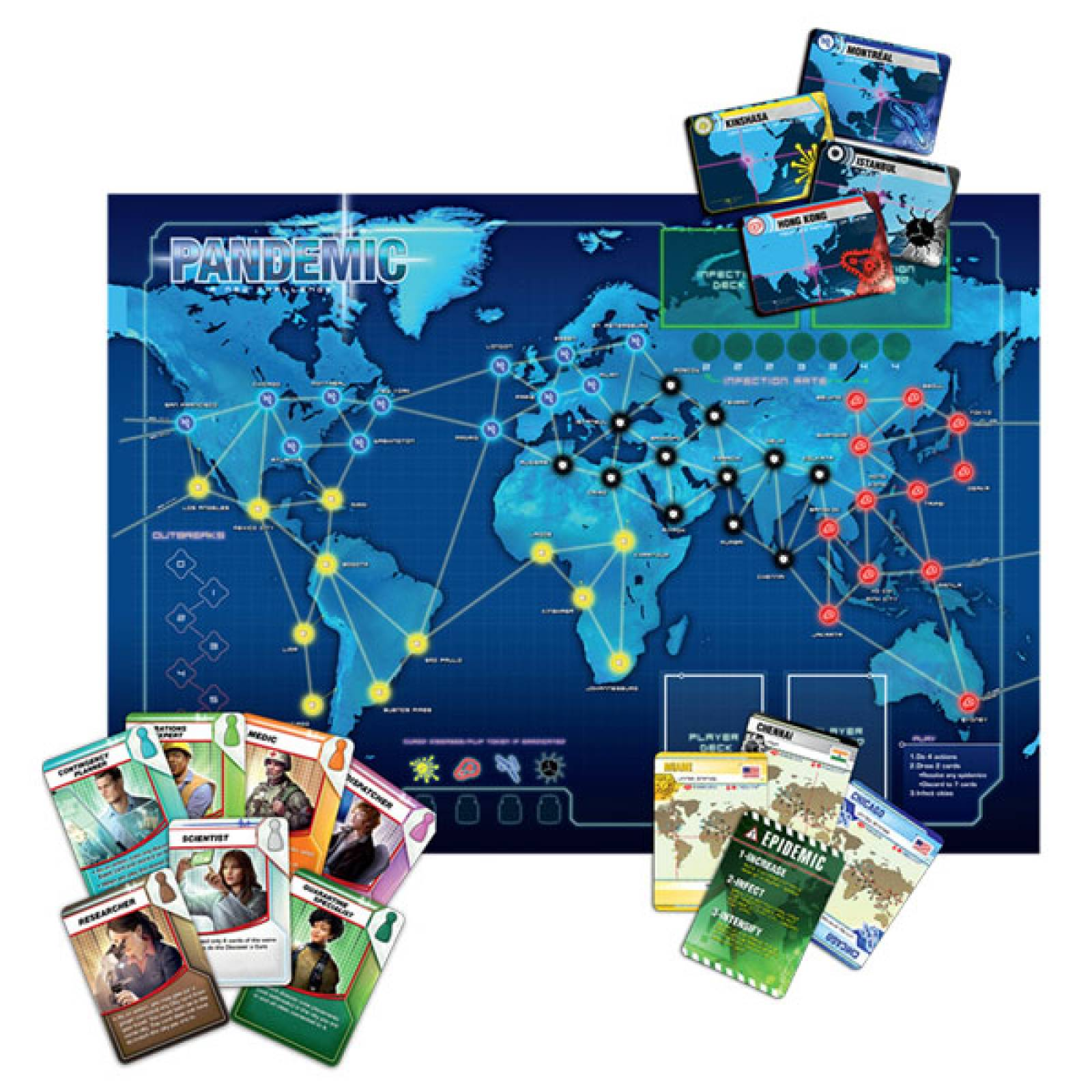 Pandemic Board Game 8+ thumbnails