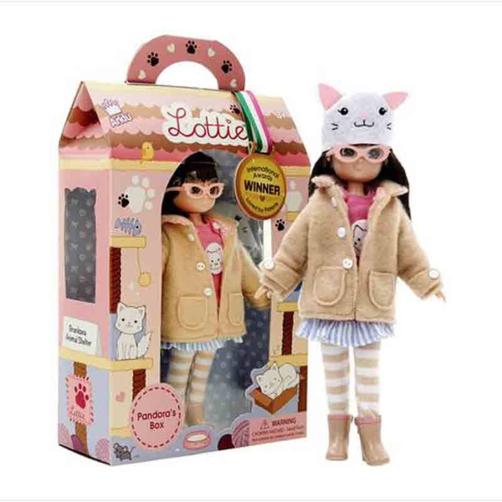 Pandora's Box Lottie Doll 3yr+