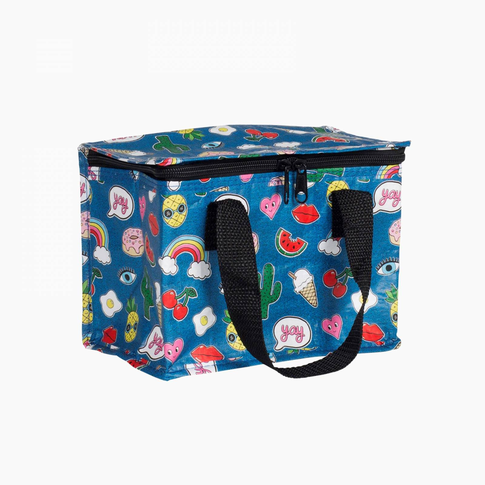 Patches And Pins Insulated Lunch Bag