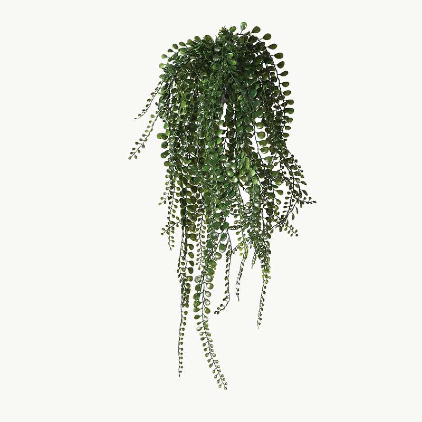 Hanging Pea Leaf Faux Potted Plant