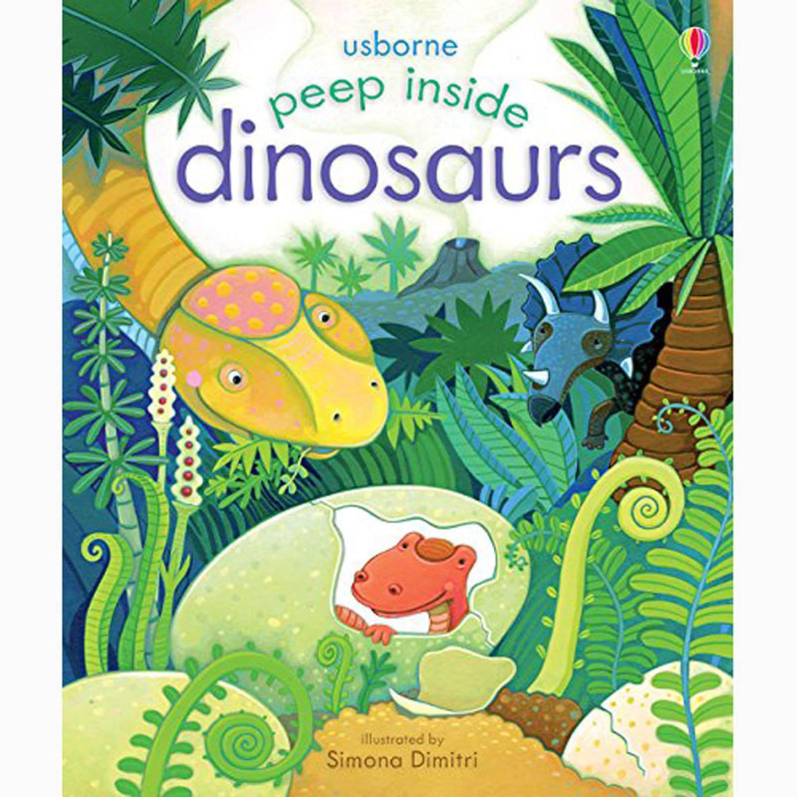 Peep Inside Dinosaurs (Lift The Flap Book)