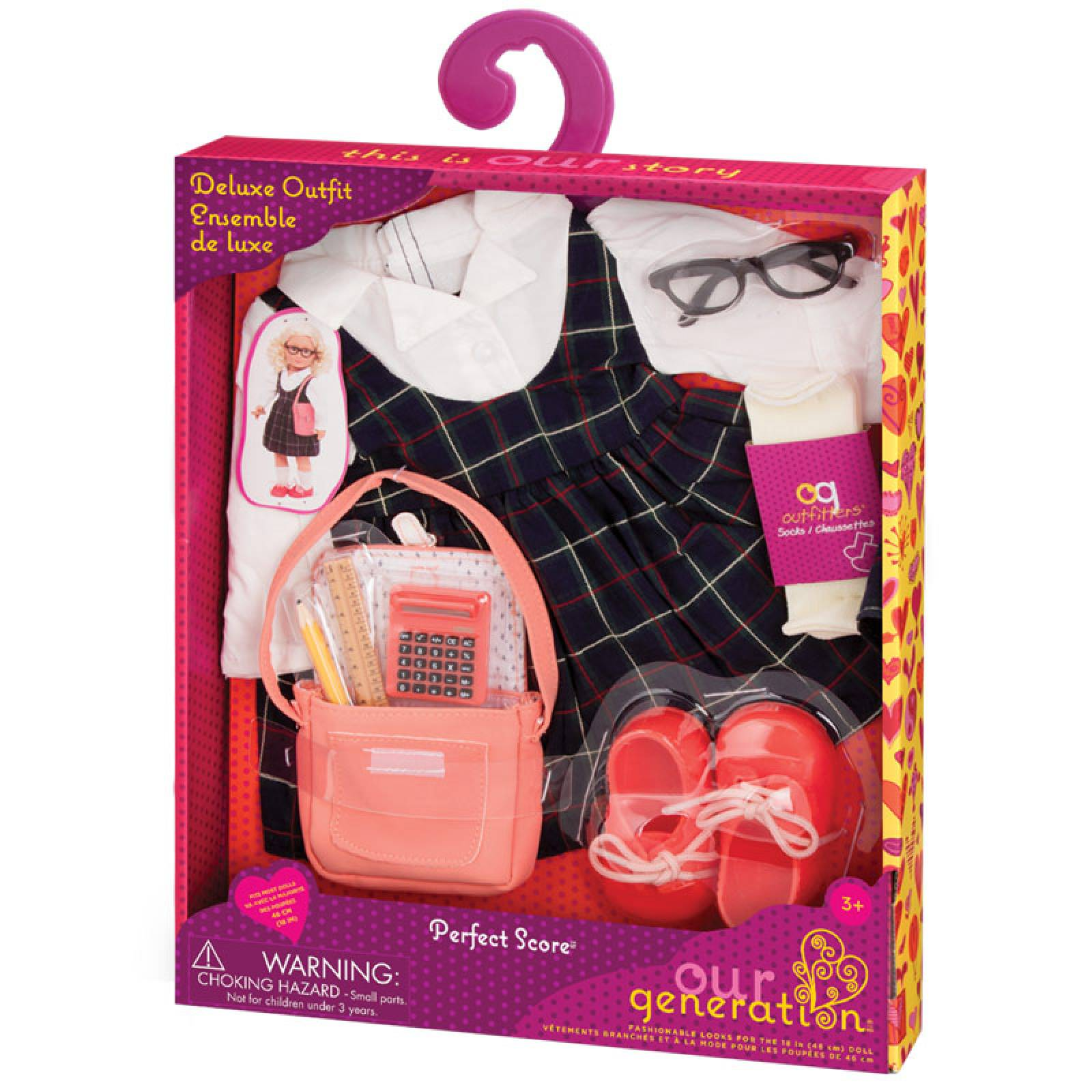 Perfect Score - Our Generation Doll Clothes Set 3+ thumbnails